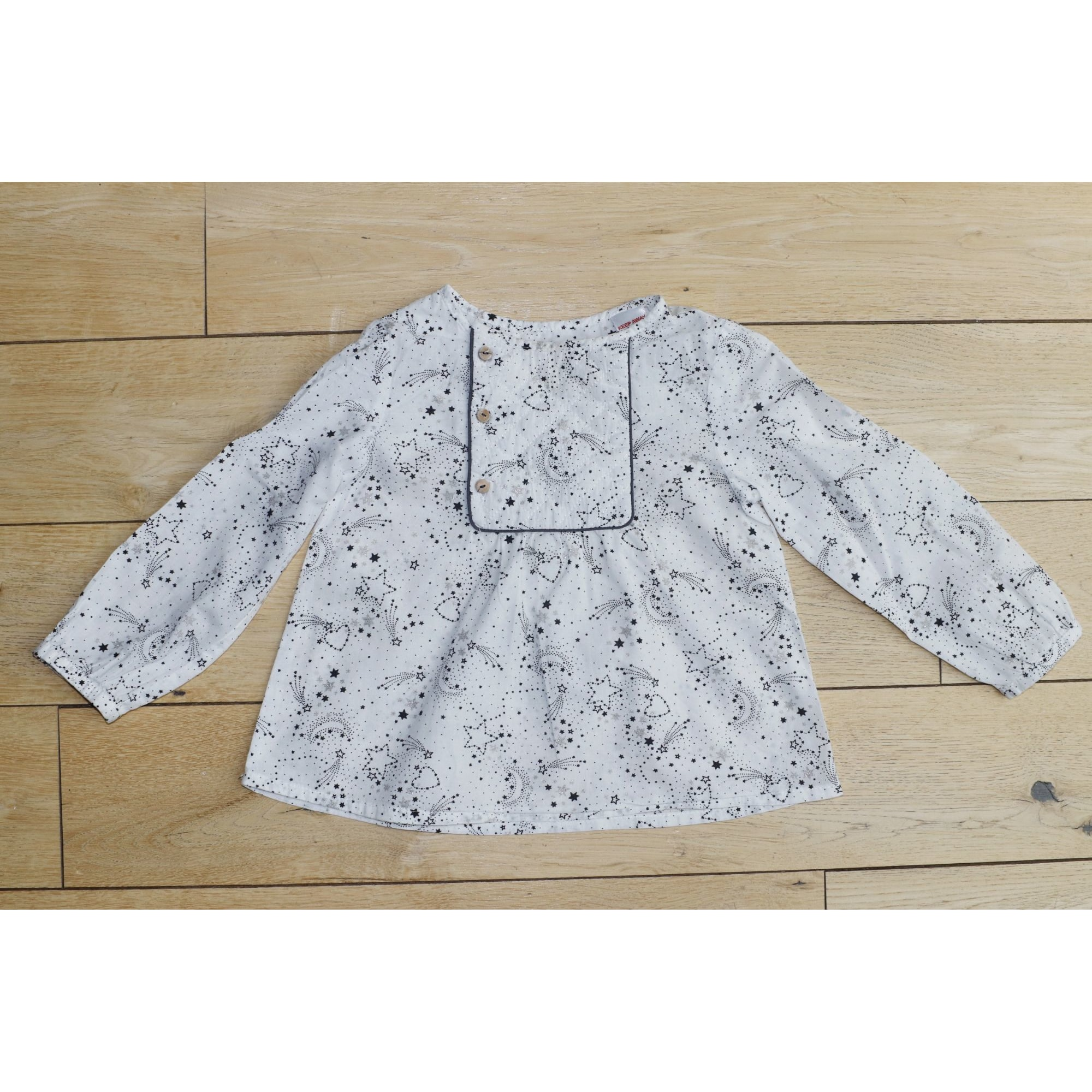 Shirt BOUT'CHOU White, off-white, ecru