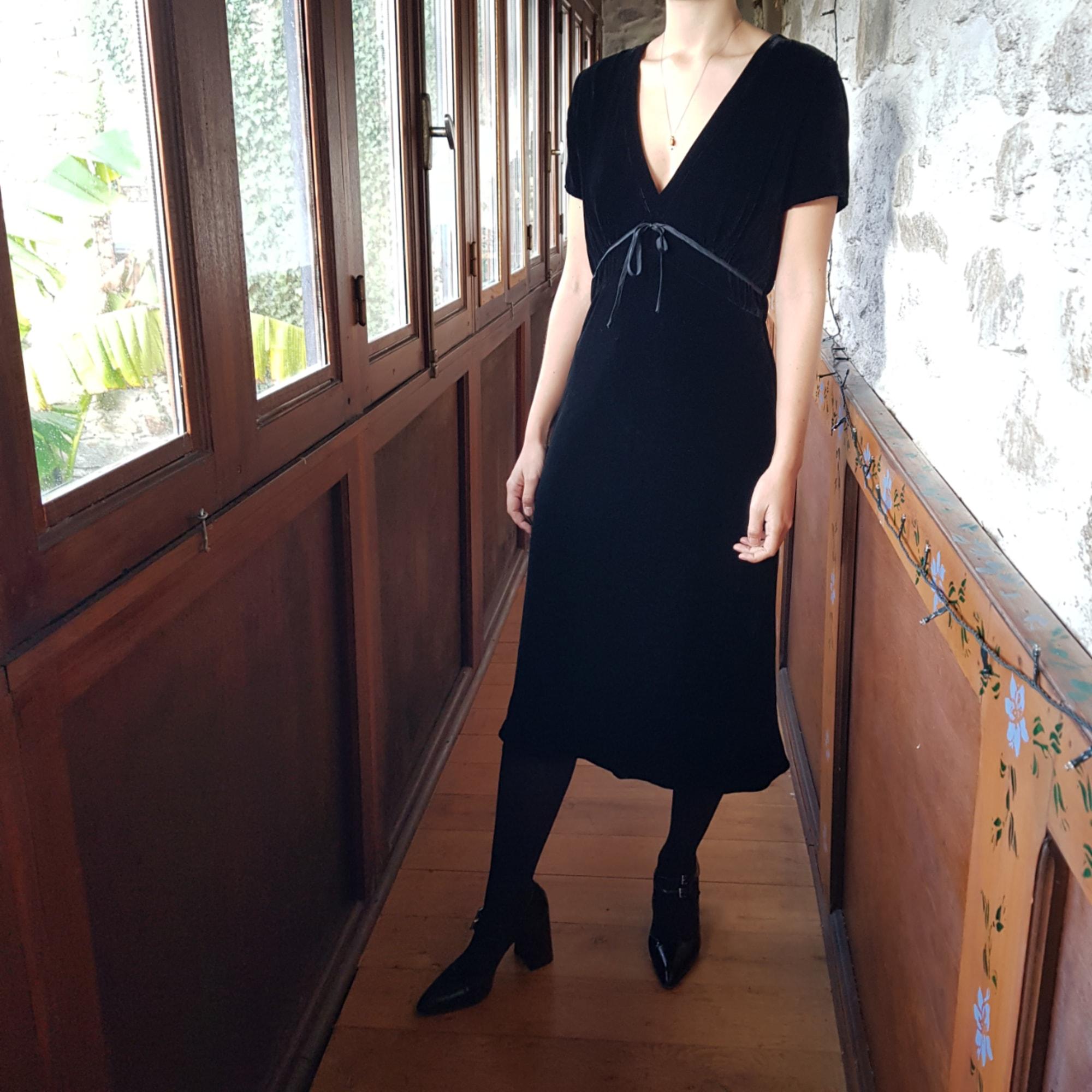 Robe mi-longue HARTFORD Noir