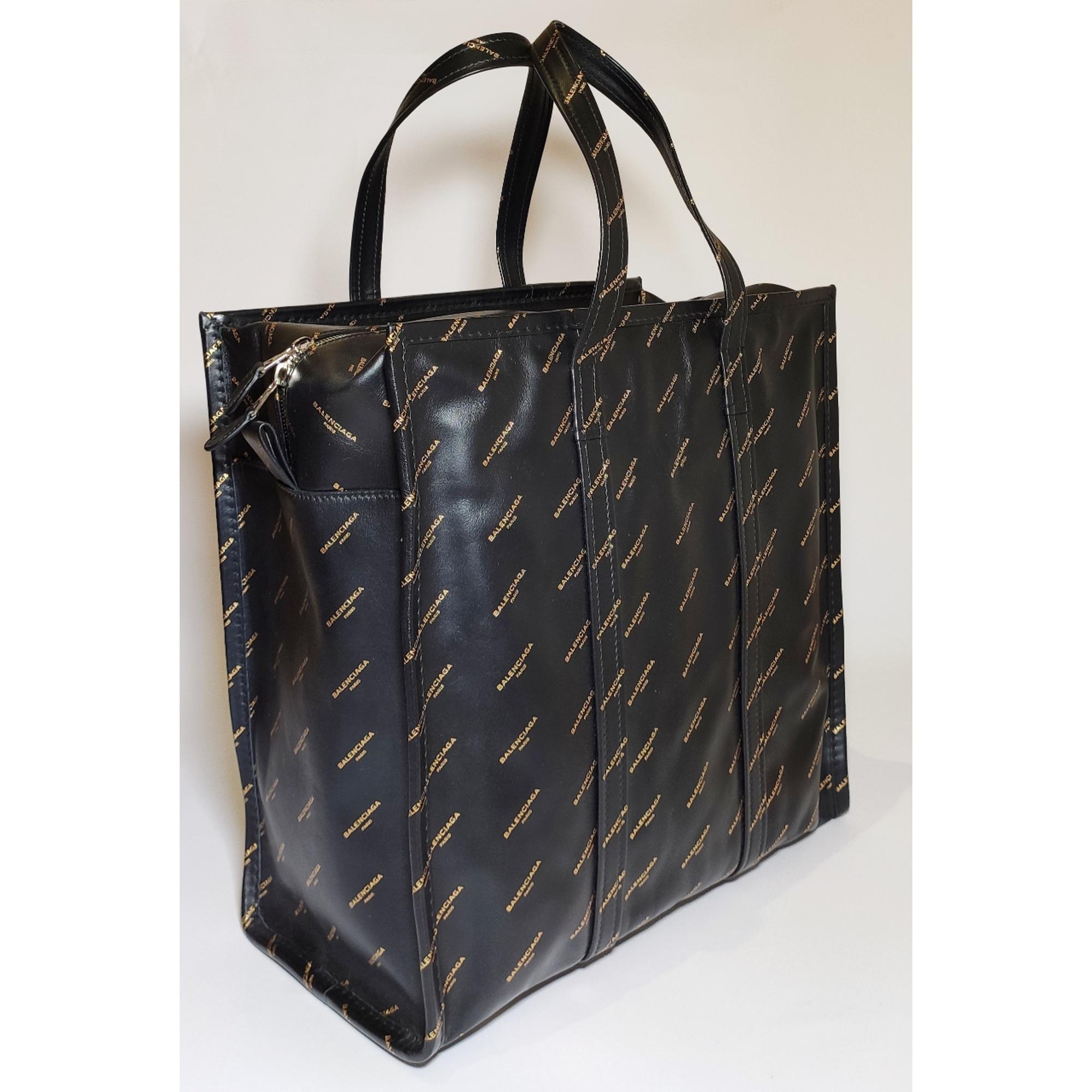Sac XL en cuir BALENCIAGA Bazar Noir