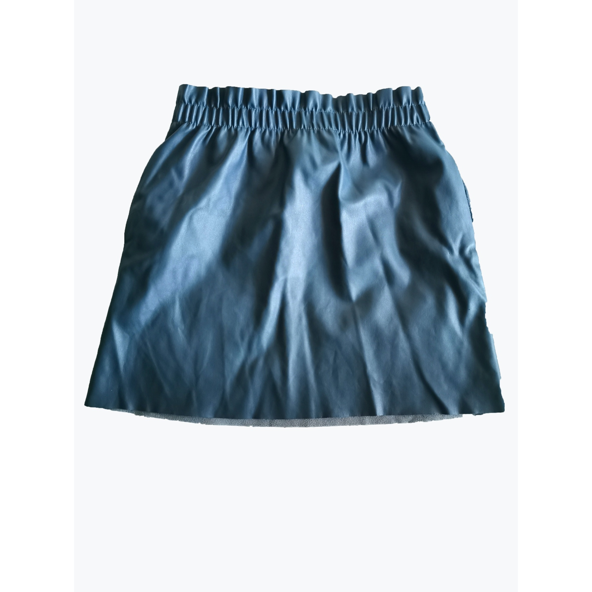 Jupe courte ZARA Bleu, bleu marine, bleu turquoise