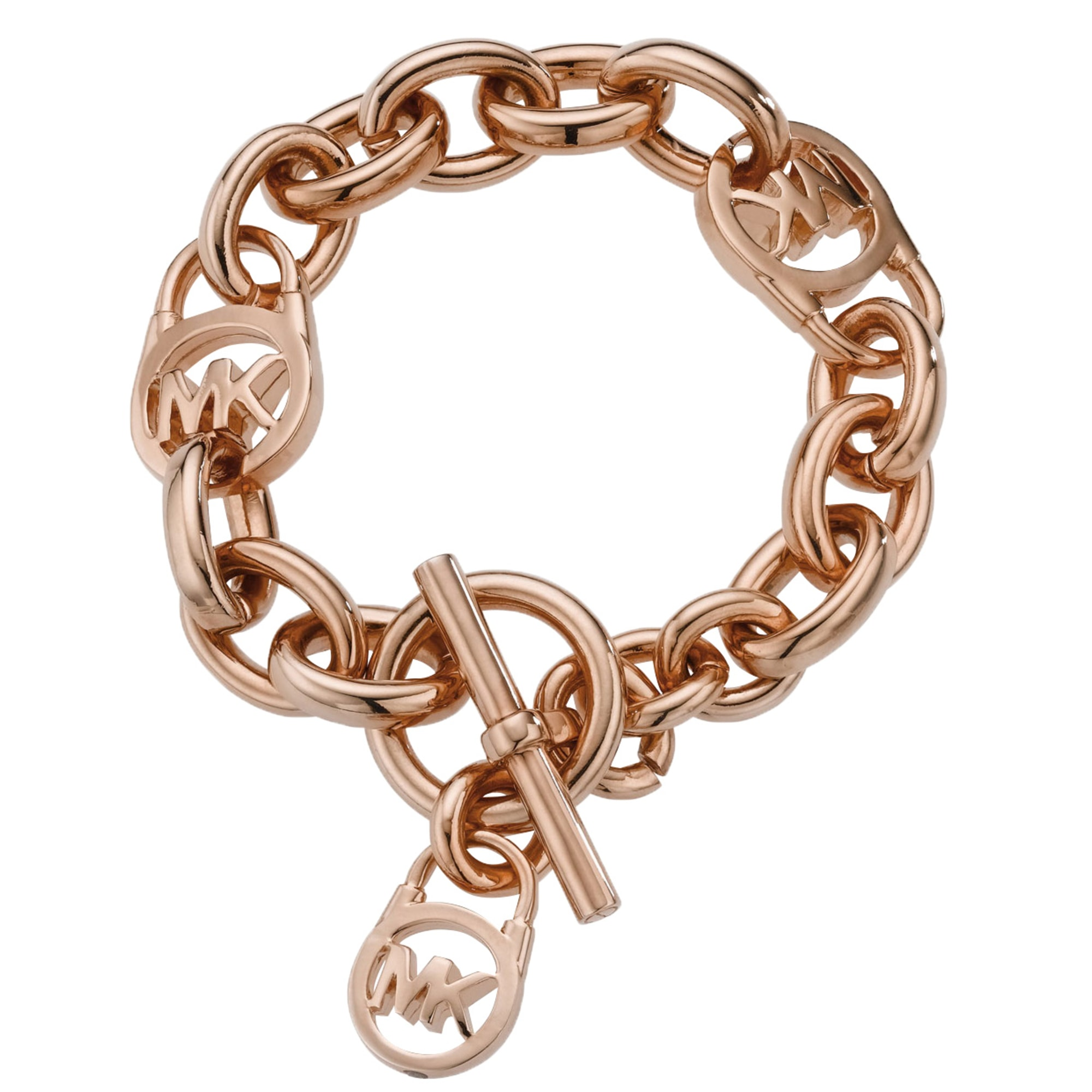 Bracelet MICHAEL KORS Doré, bronze, cuivre