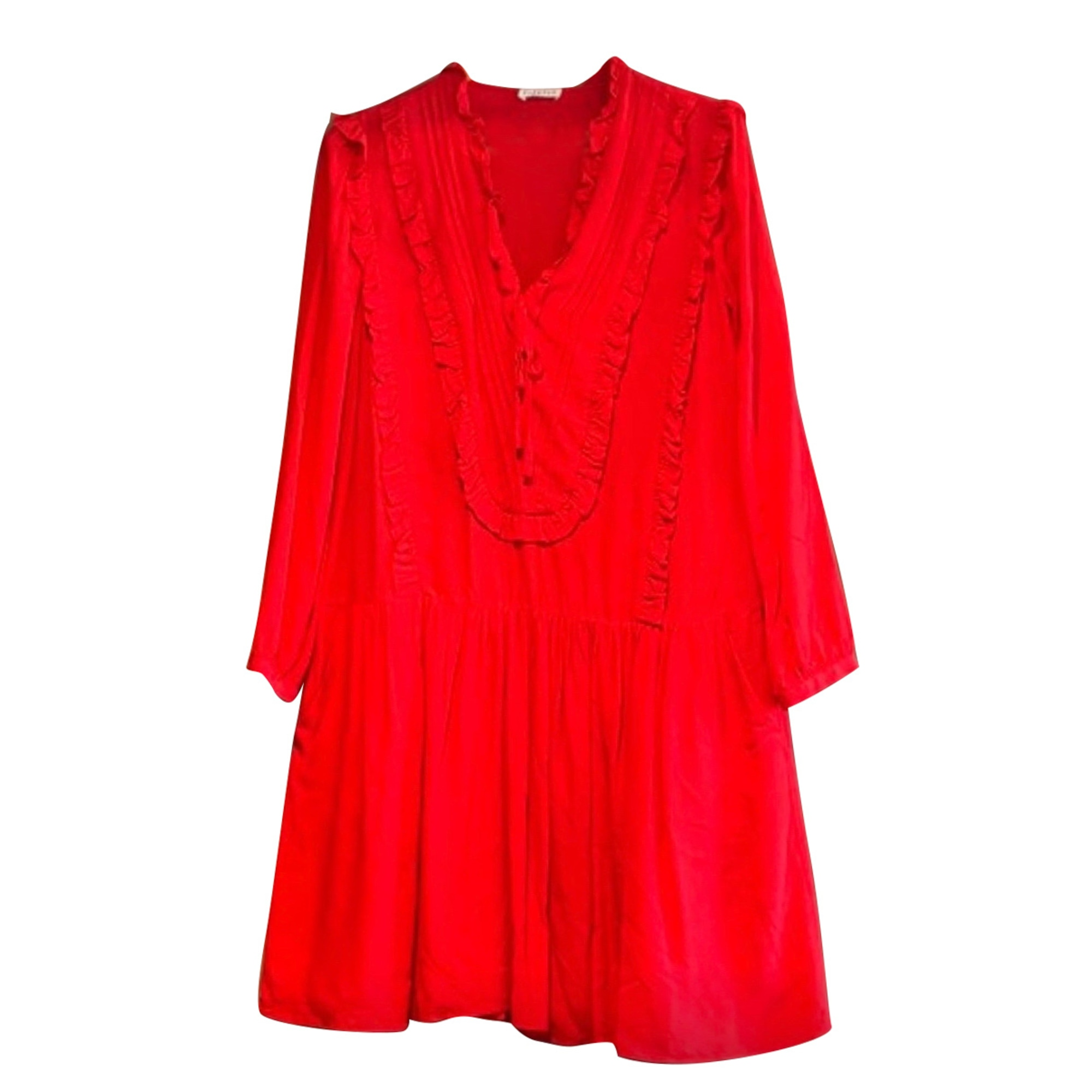 Robe mi-longue CLAUDIE PIERLOT Rouge, bordeaux