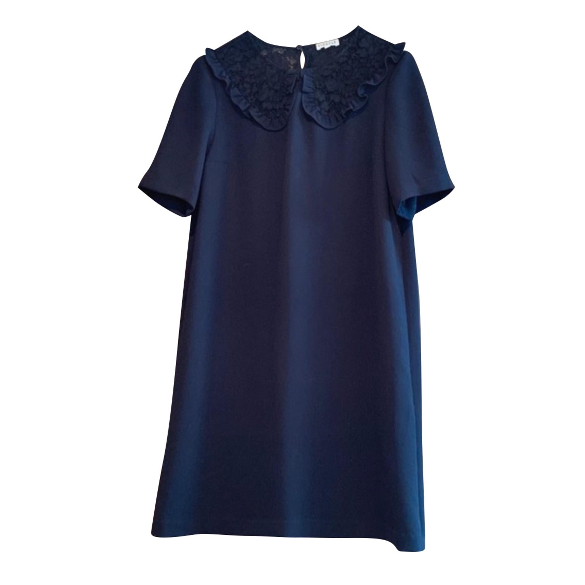 Robe courte CLAUDIE PIERLOT Bleu, bleu marine, bleu turquoise