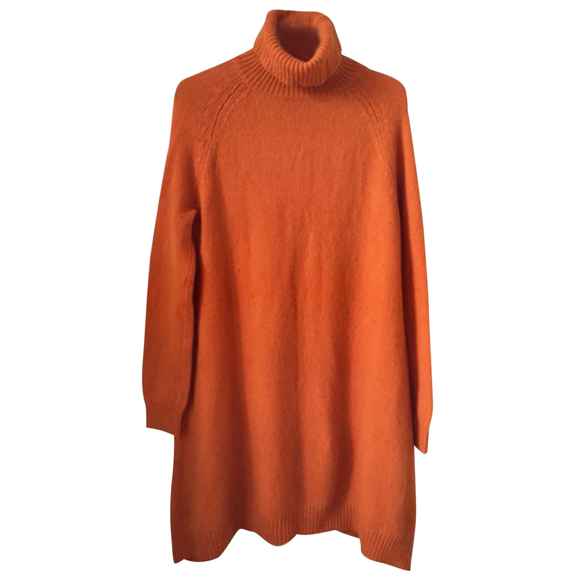 Robe mi-longue COS Orange