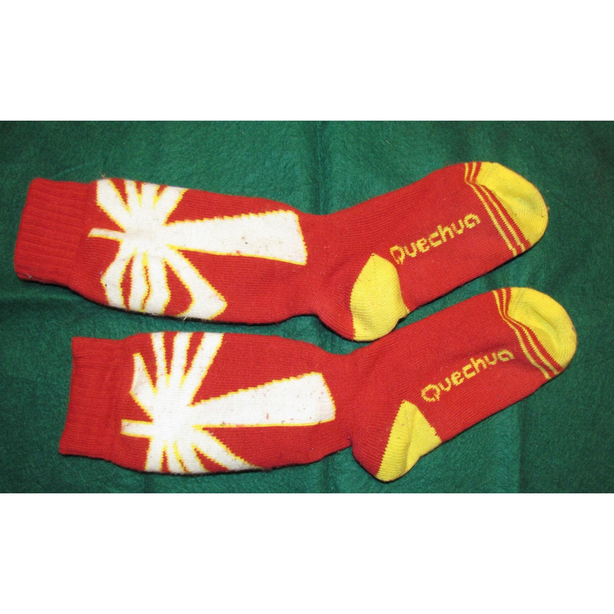 Socks QUECHUA Multicolor