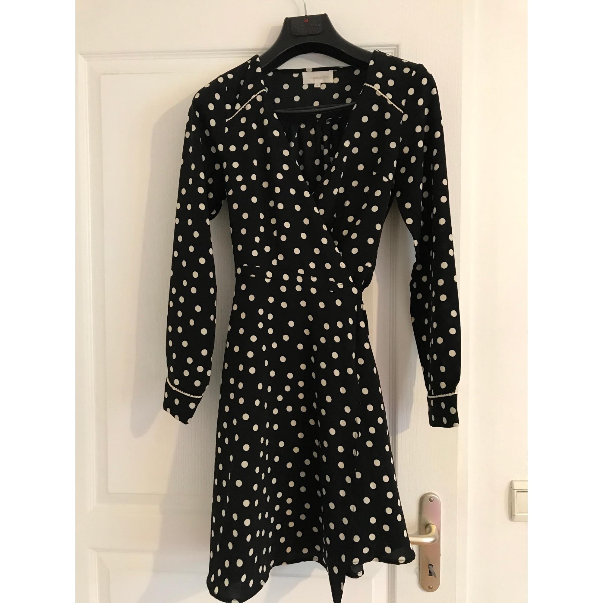 Robe courte GRACE & MILA Noir