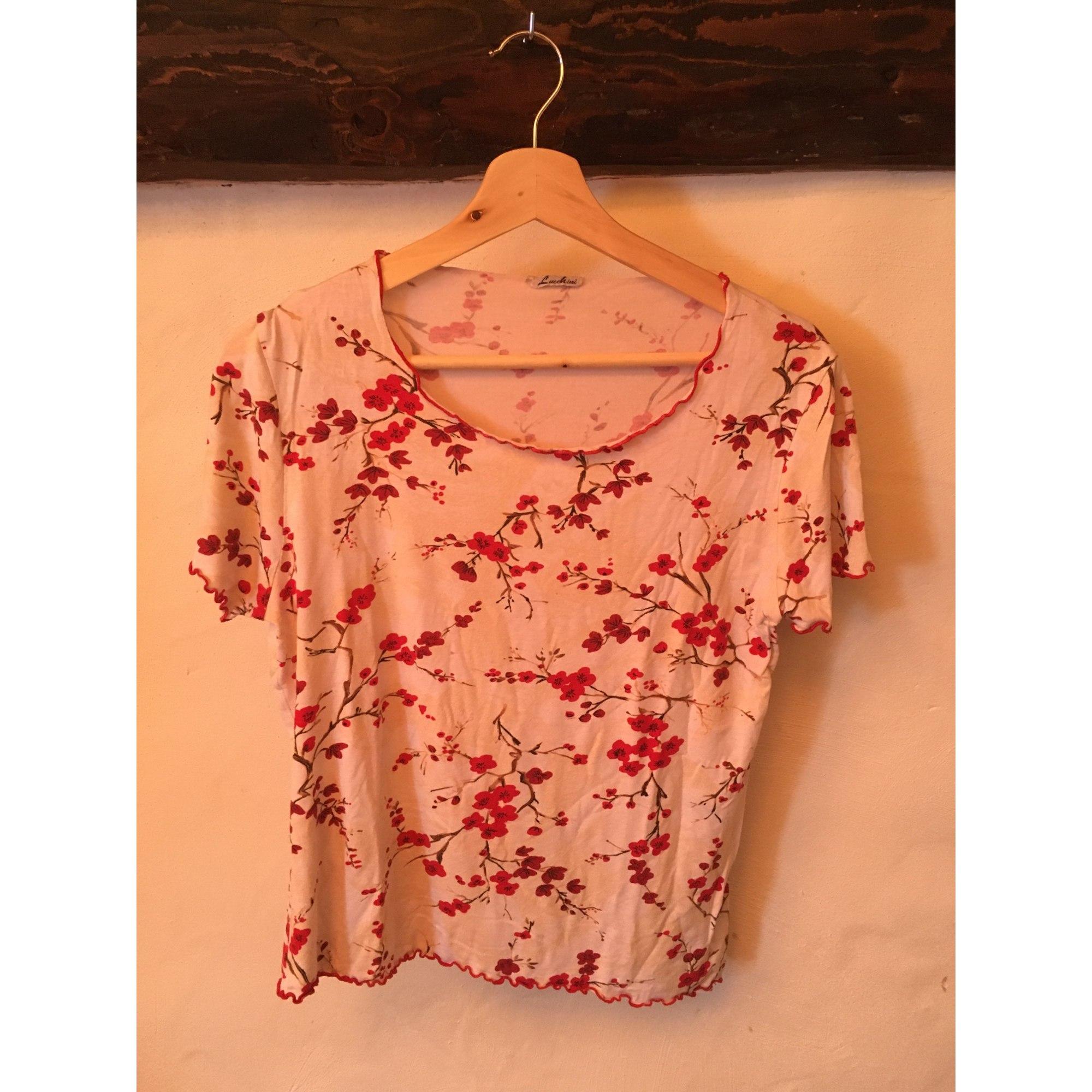 Top, tee-shirt LUCCHINI Rose, fuschia, vieux rose