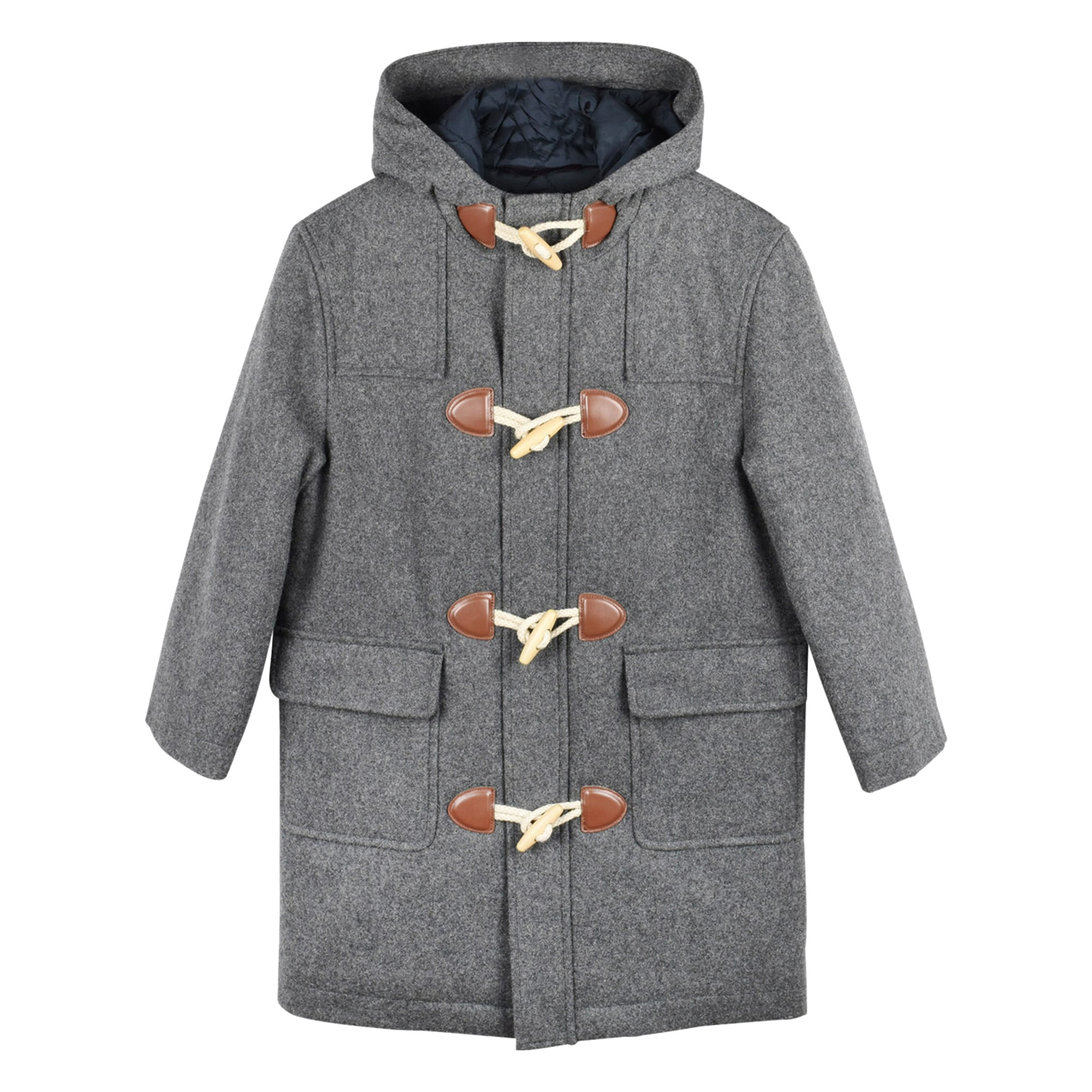 Manteau BROOKS BROTHERS Gris, anthracite