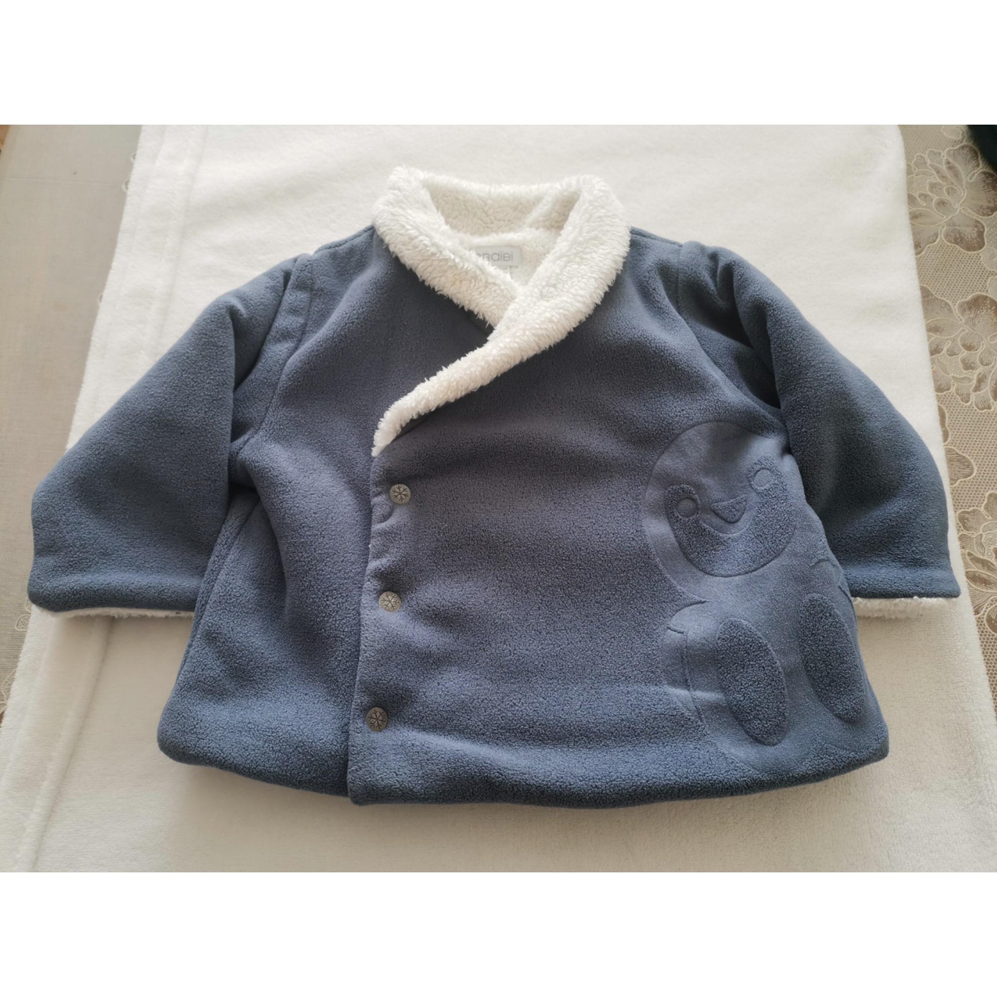 Veste OBAIBI Bleu, bleu marine, bleu turquoise