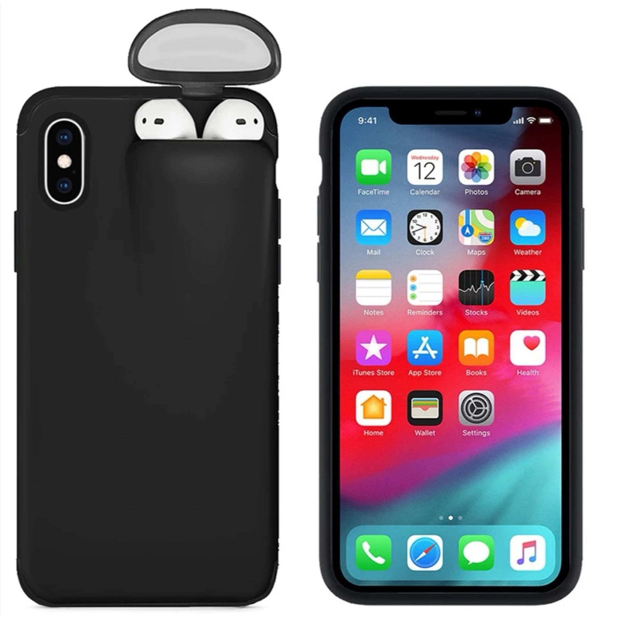 Etui iPhone  CASE Noir
