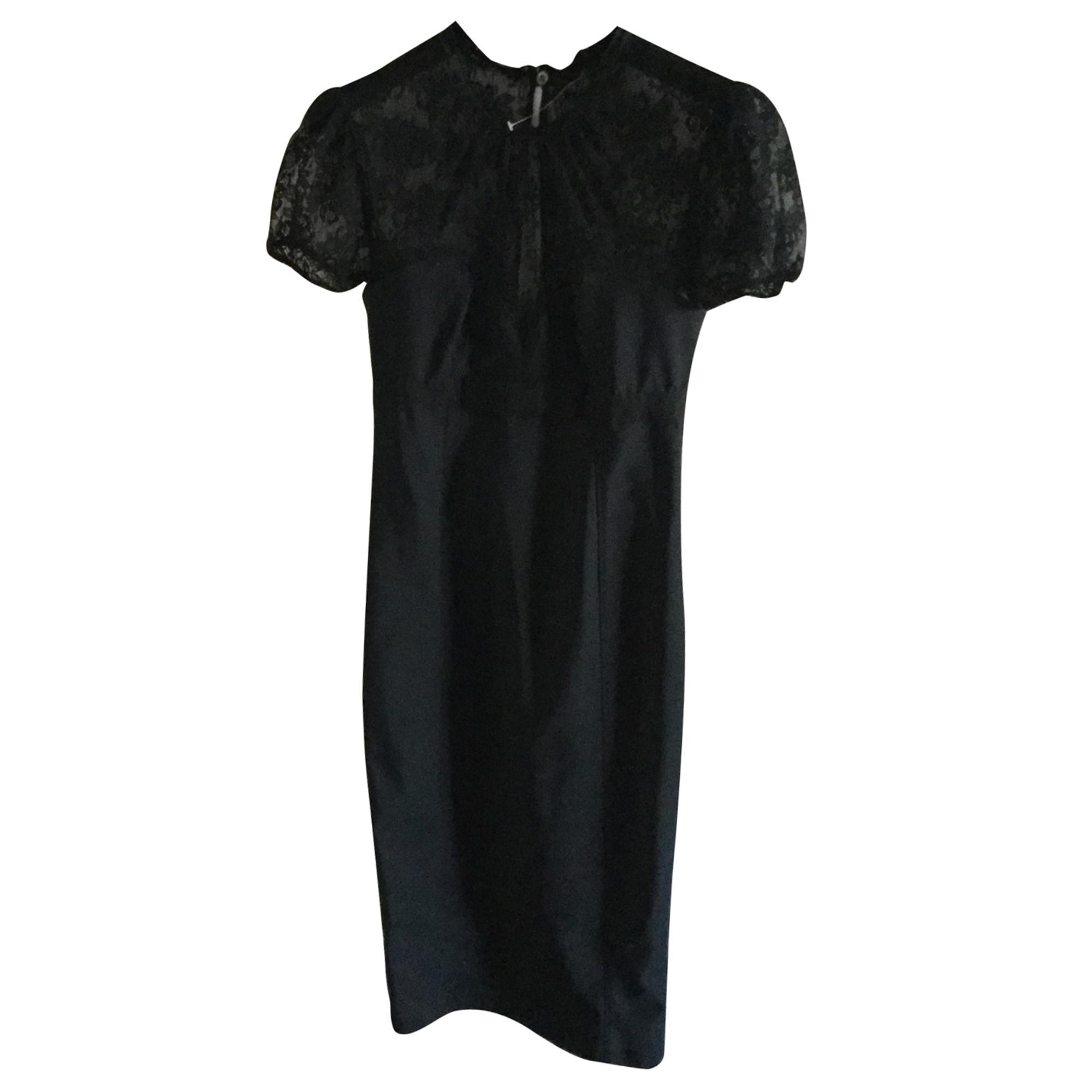 Robe mi-longue DOLCE & GABBANA Noir