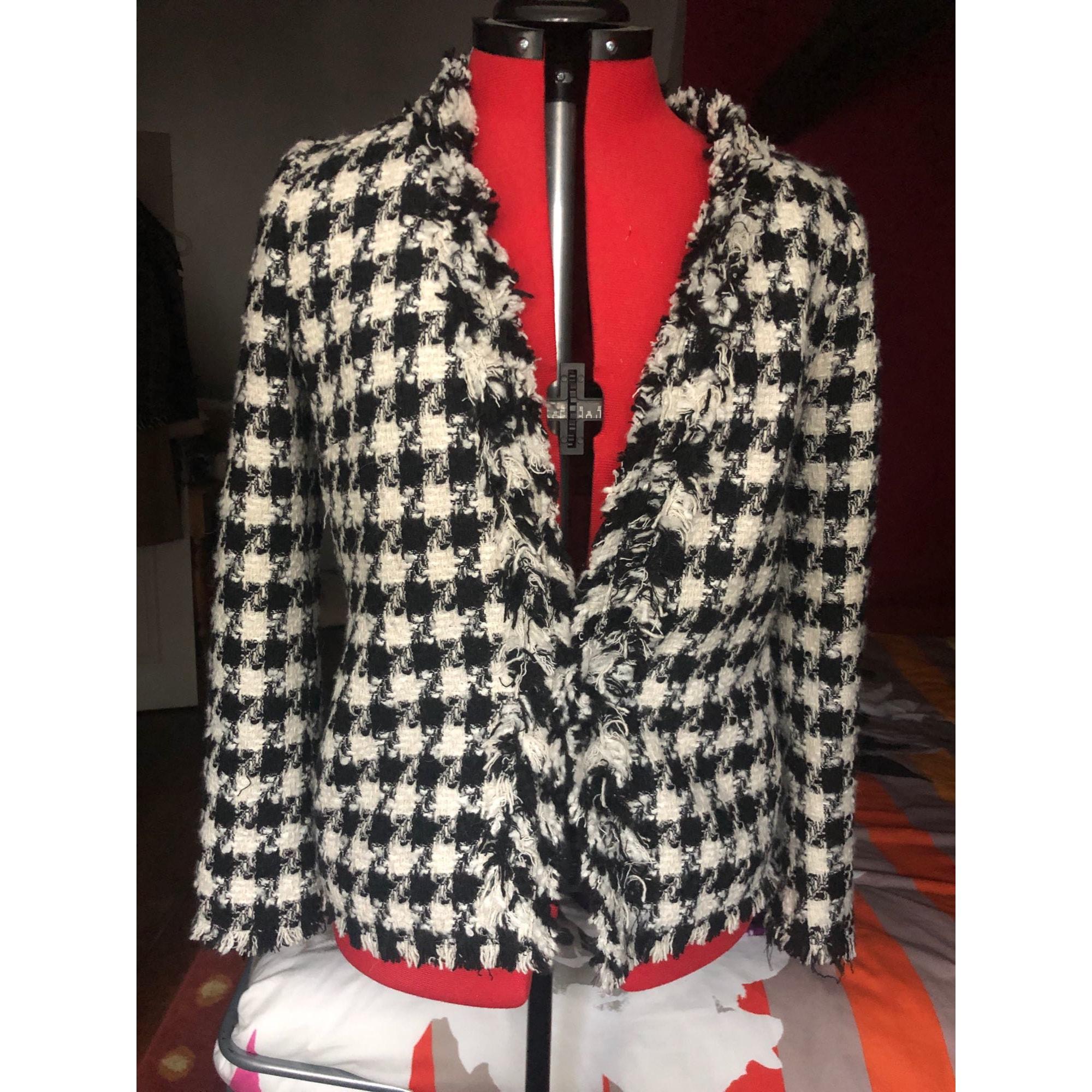 Blazer, veste tailleur ZARA Noire et blanche
