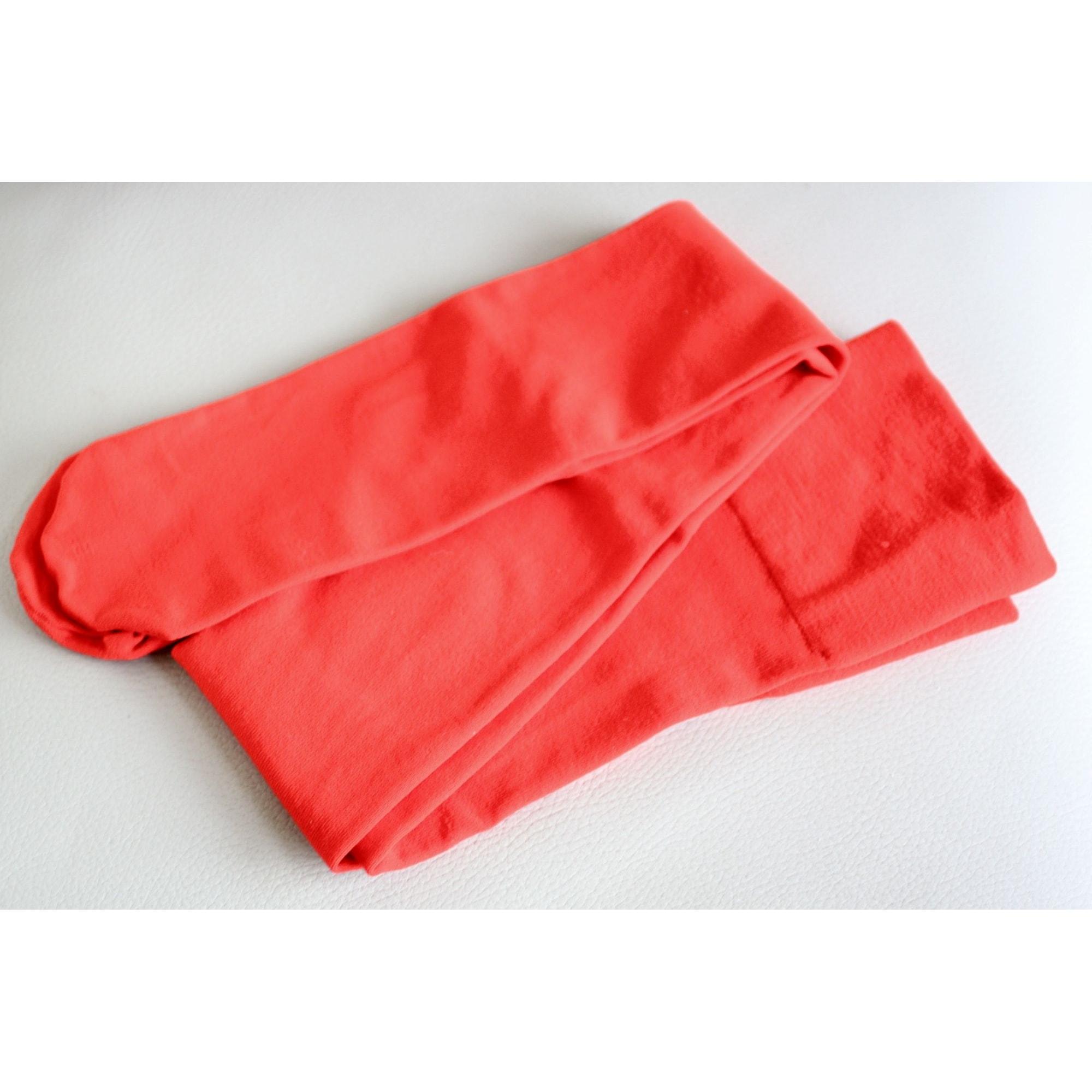 Chaussettes mi-cuisse SESSUN Rouge, bordeaux