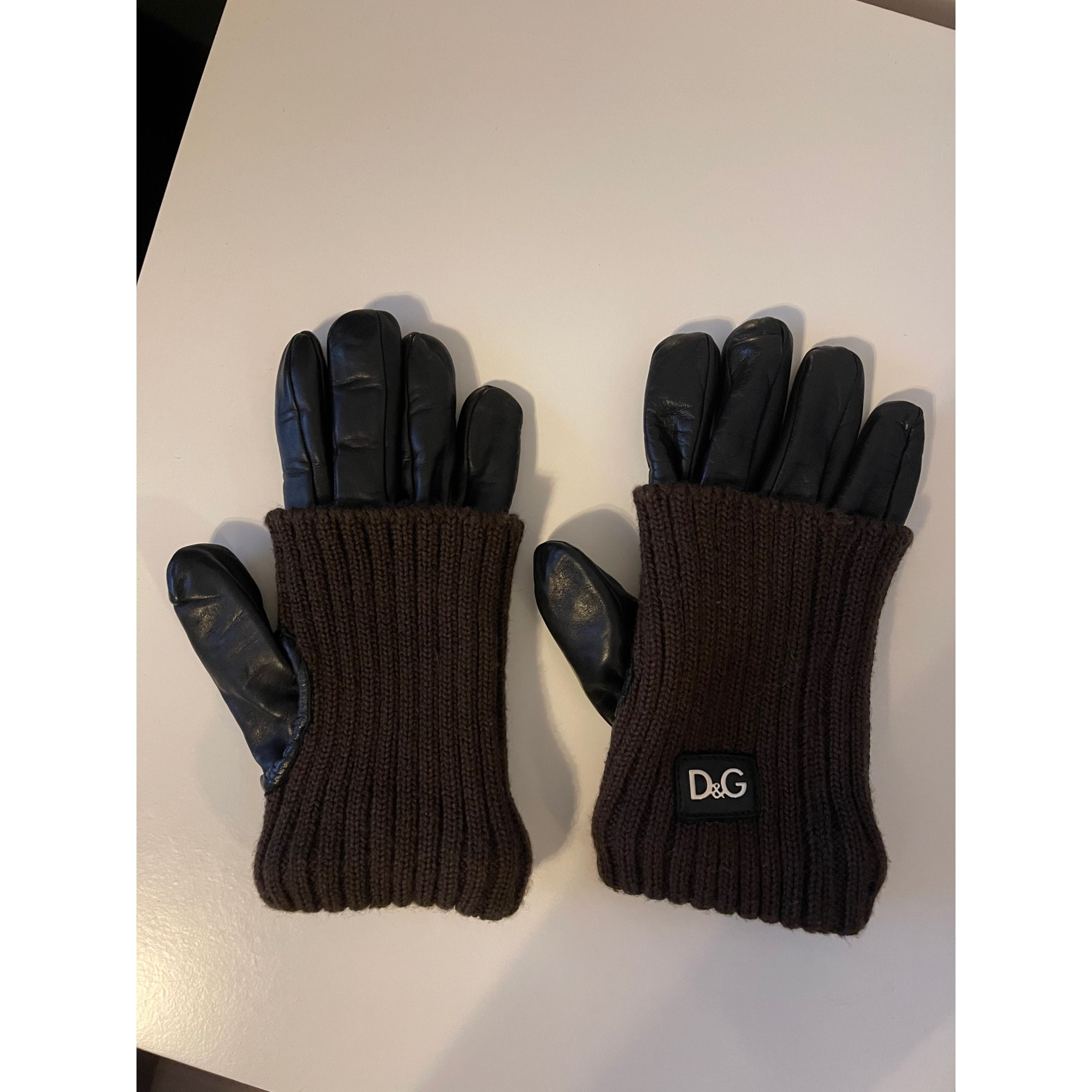 Handschuhe DOLCE & GABBANA Schwarz