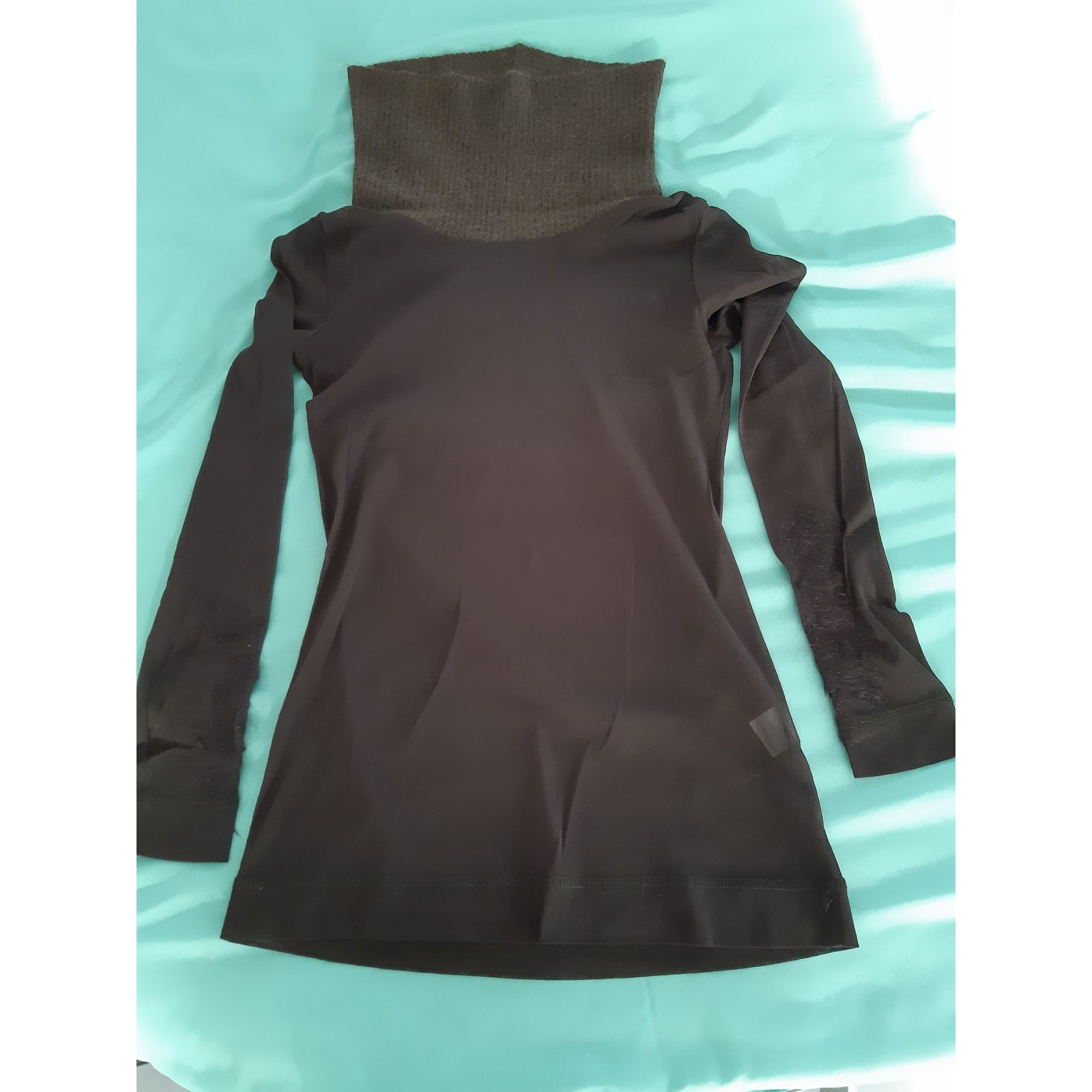 Pull 3322 COLLECTION Marron