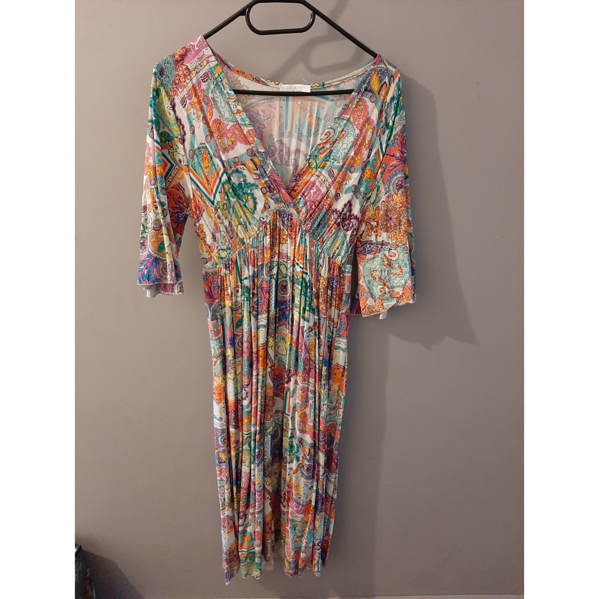 Robe longue MADE IN ITALIE Multicouleur