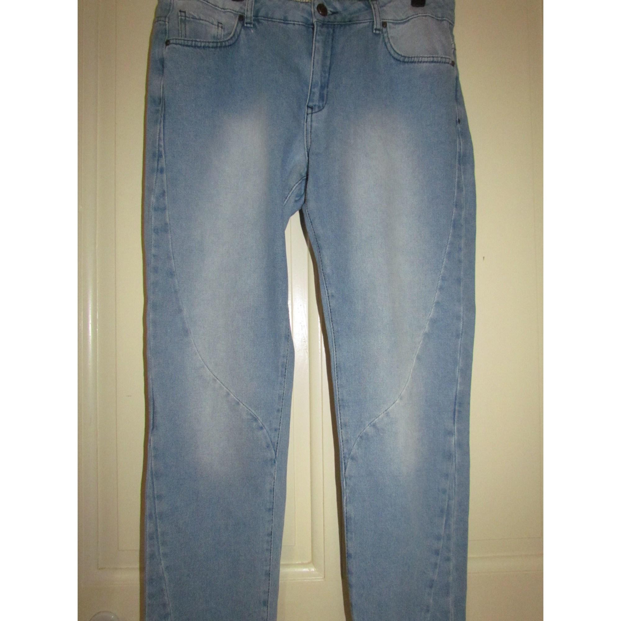 Jeans droit COTÉLAC Bleu, bleu marine, bleu turquoise
