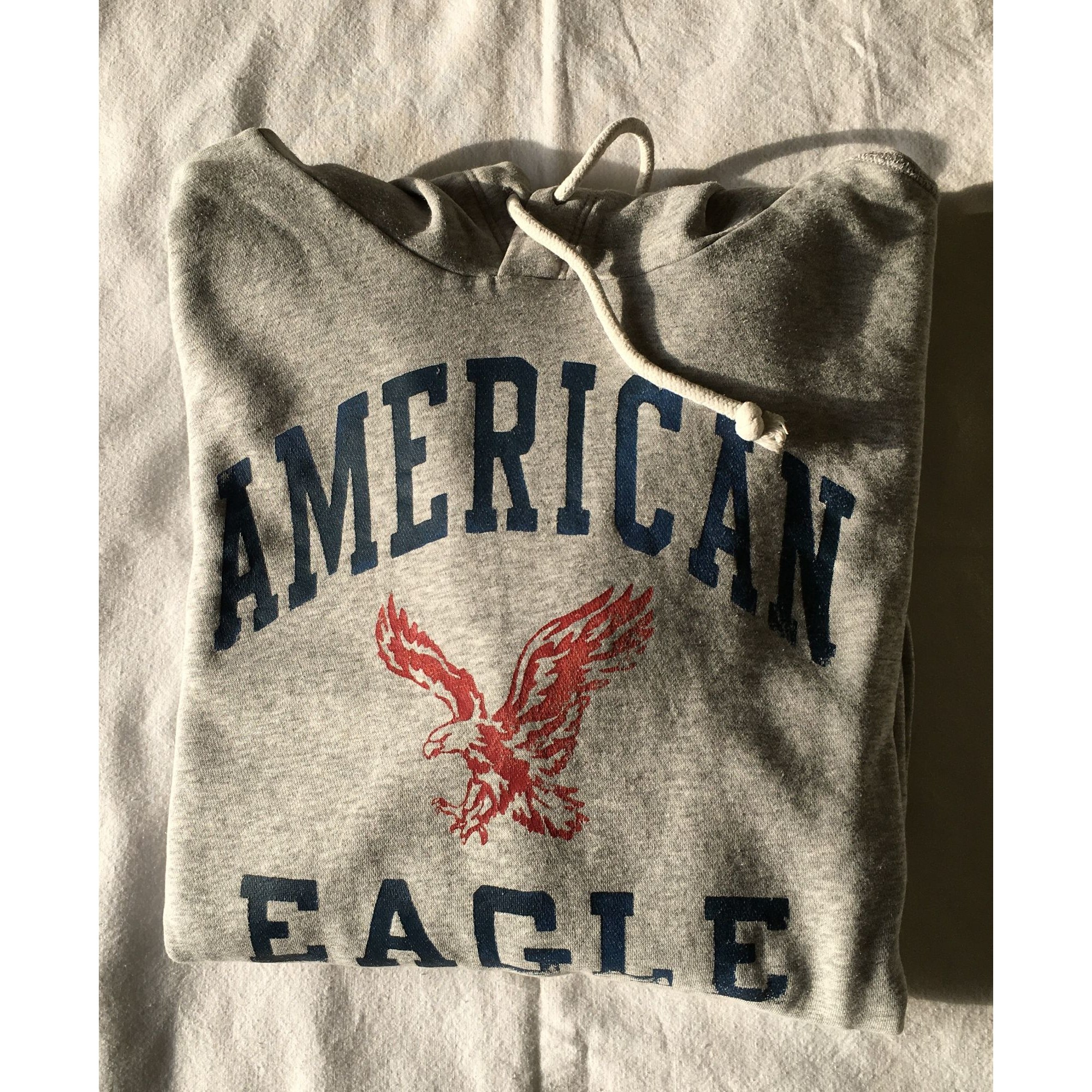 Sweat AMERICAN EAGLE OUTFITTERS Gris, anthracite