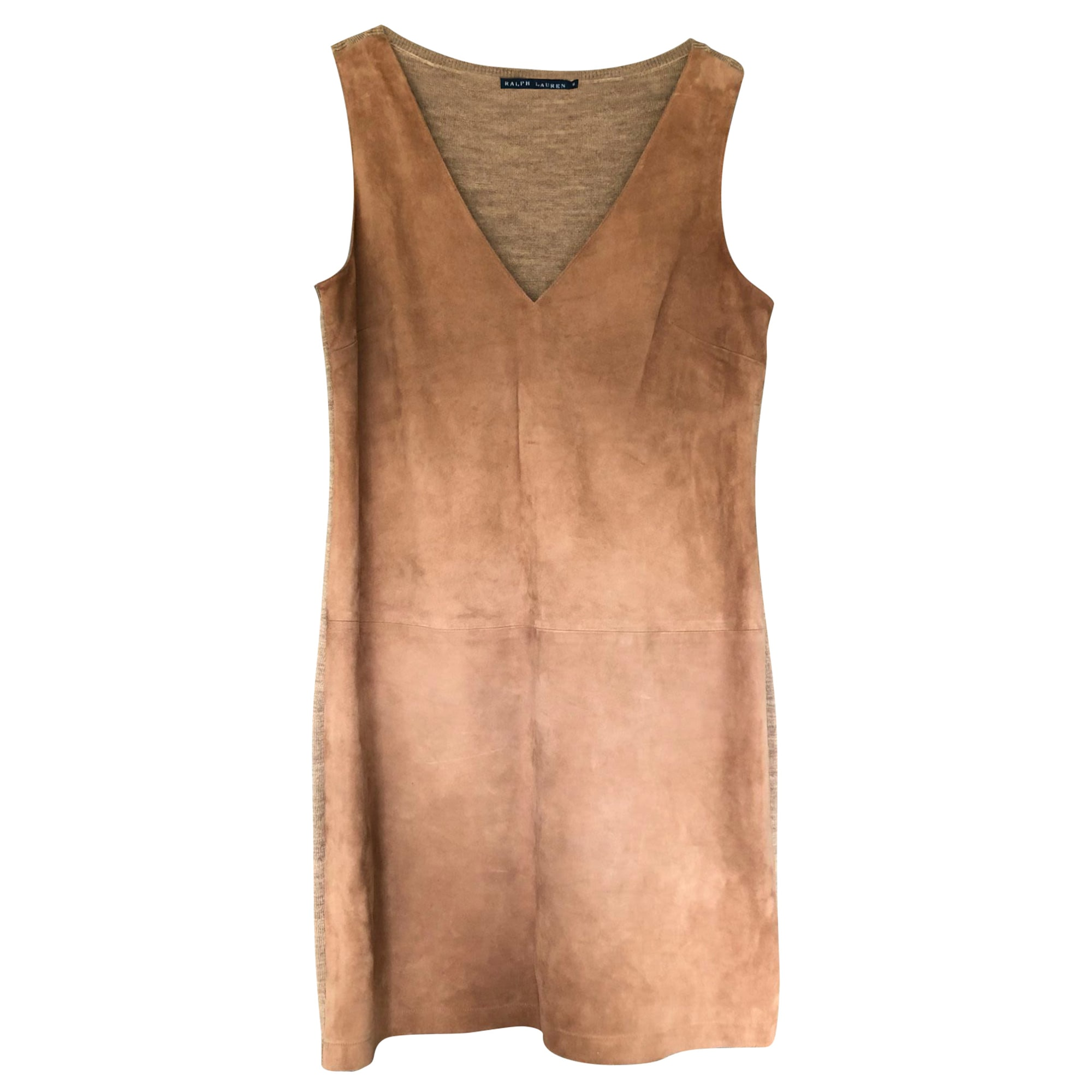 Robe mi-longue RALPH LAUREN Beige, camel
