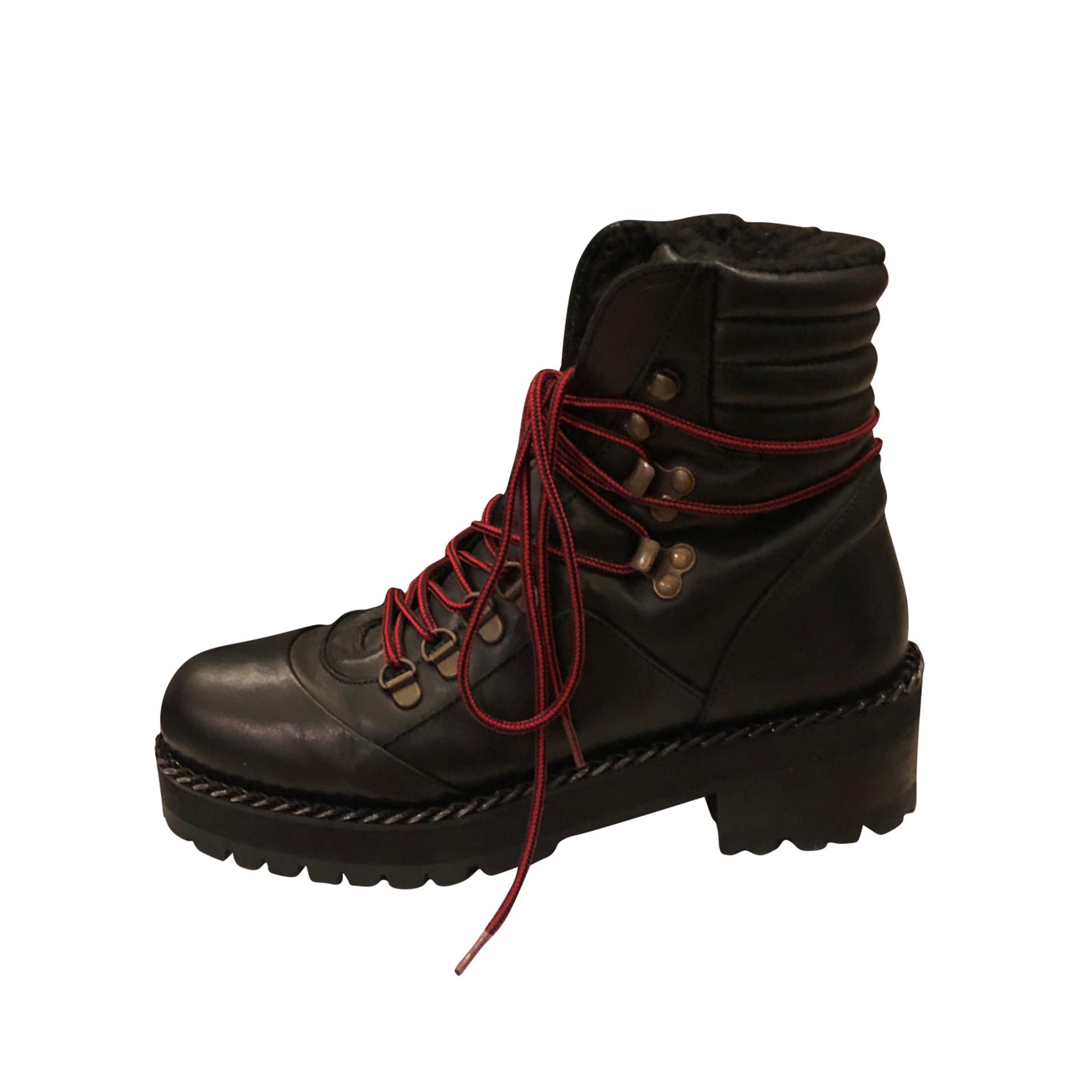 Bottines & low boots motards THE KOOPLES Noir
