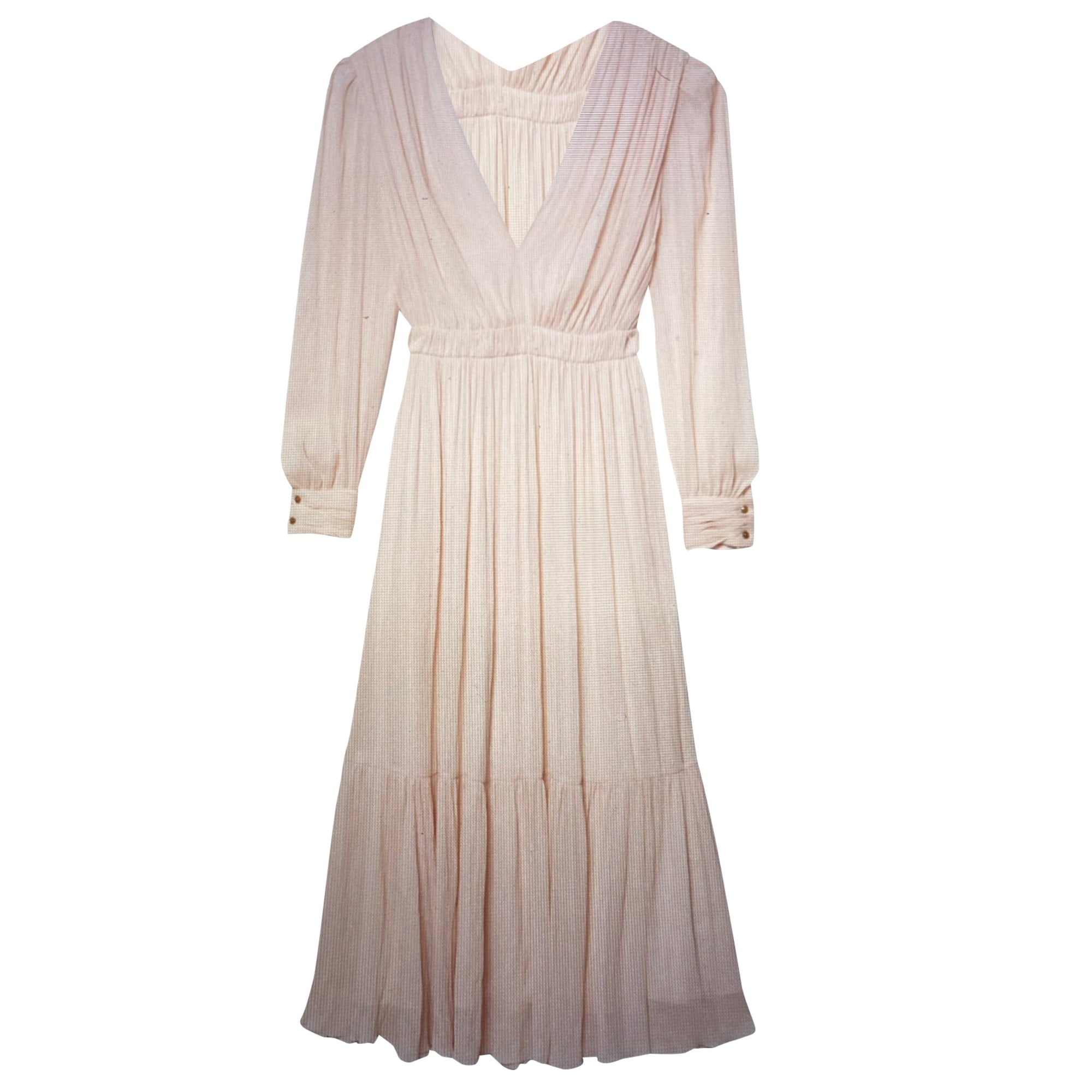Robe longue SANDRO Rose pale