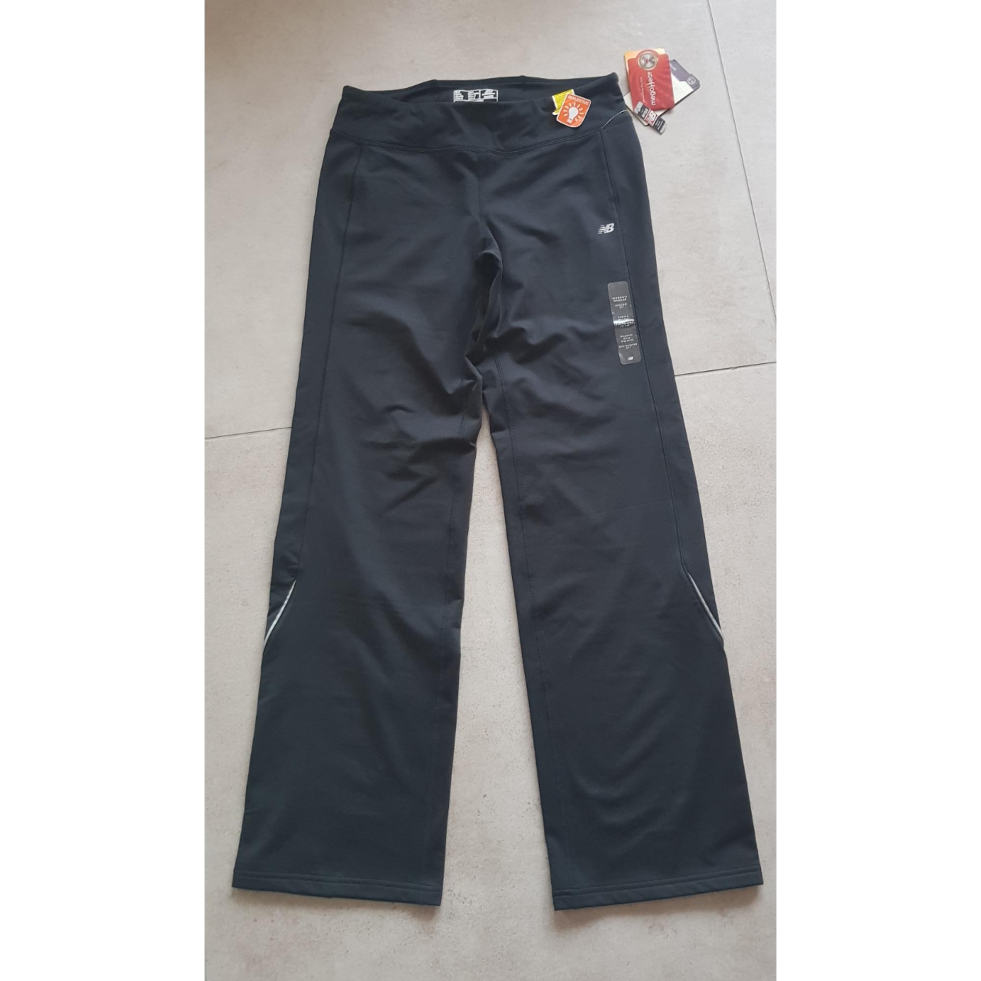 Pantalon de fitness NEW BALANCE Noir