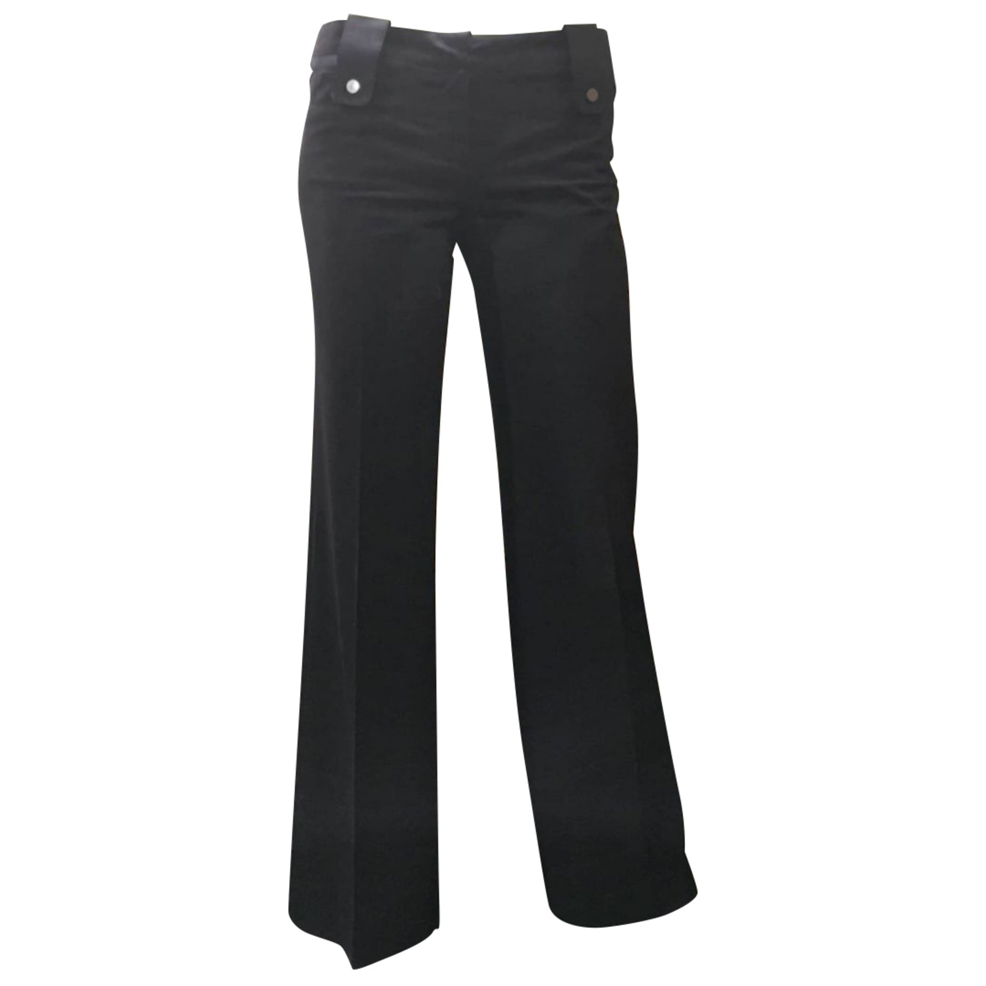 Pantalon droit BARBARA BUI Noir