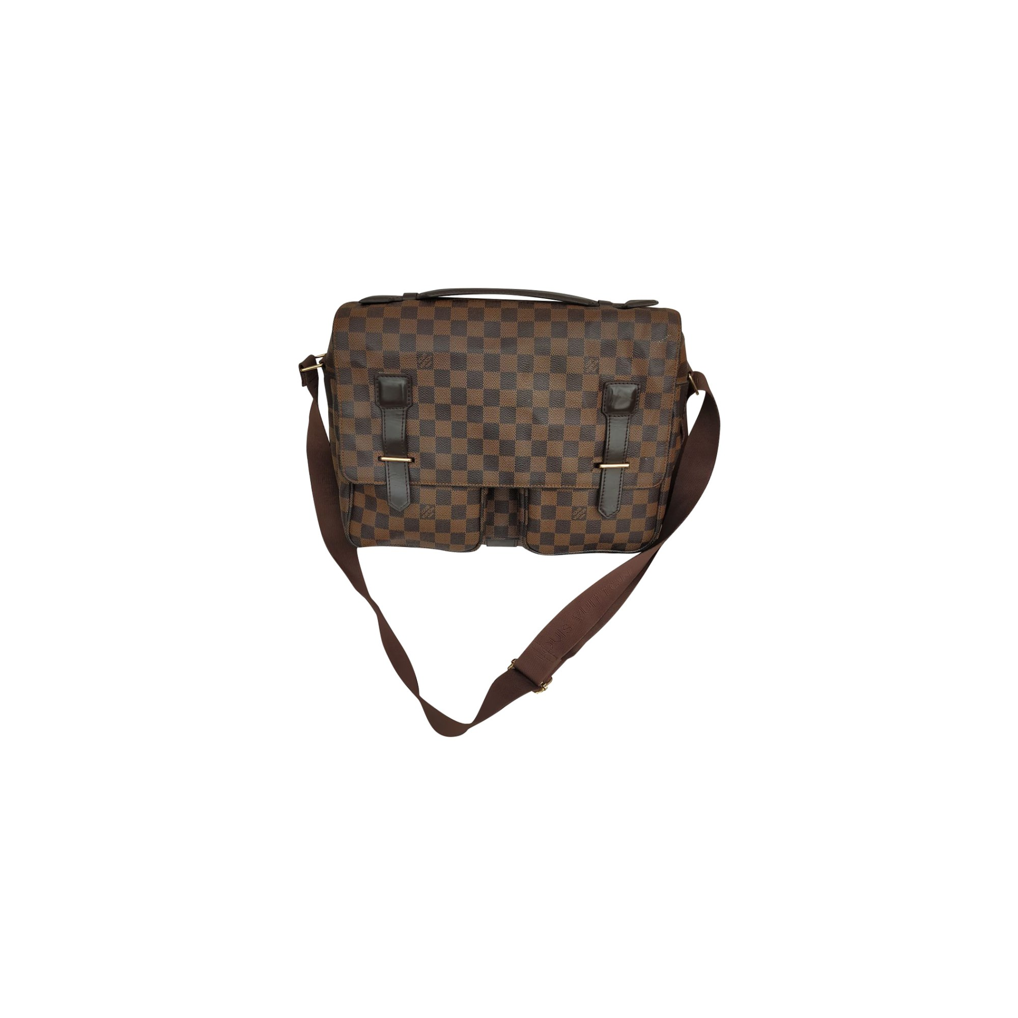 Handkoffer LOUIS VUITTON Gold, Bronze, Kupfer