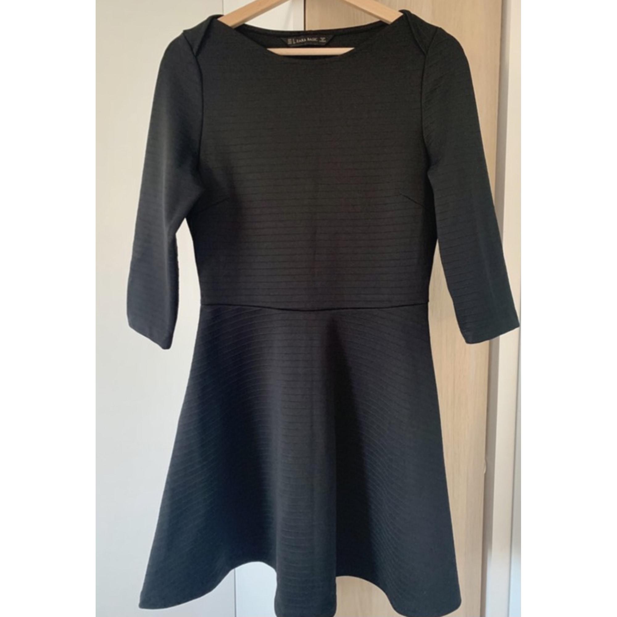 Robe courte ZARA Noir