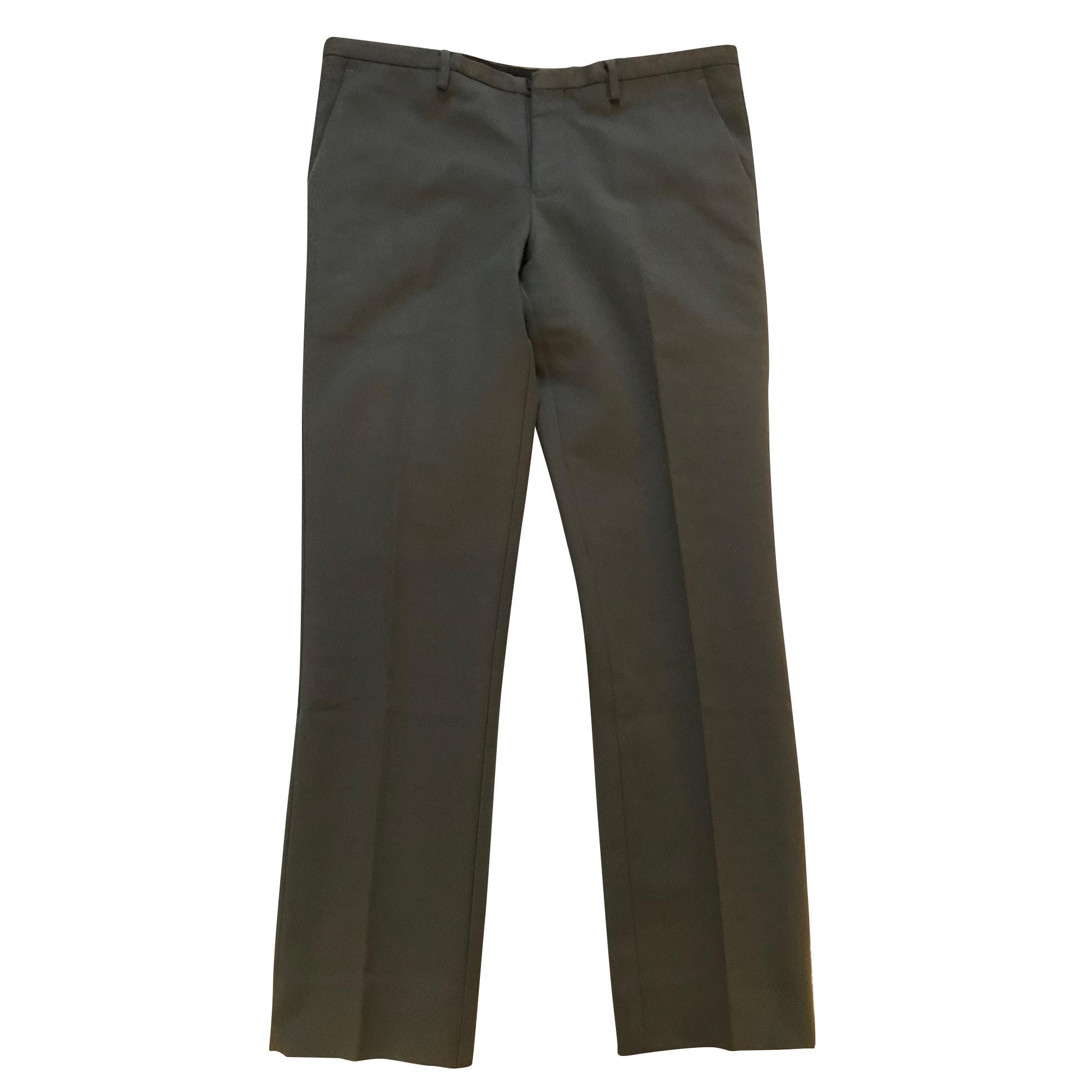 Pantalon droit EMPORIO ARMANI Kaki