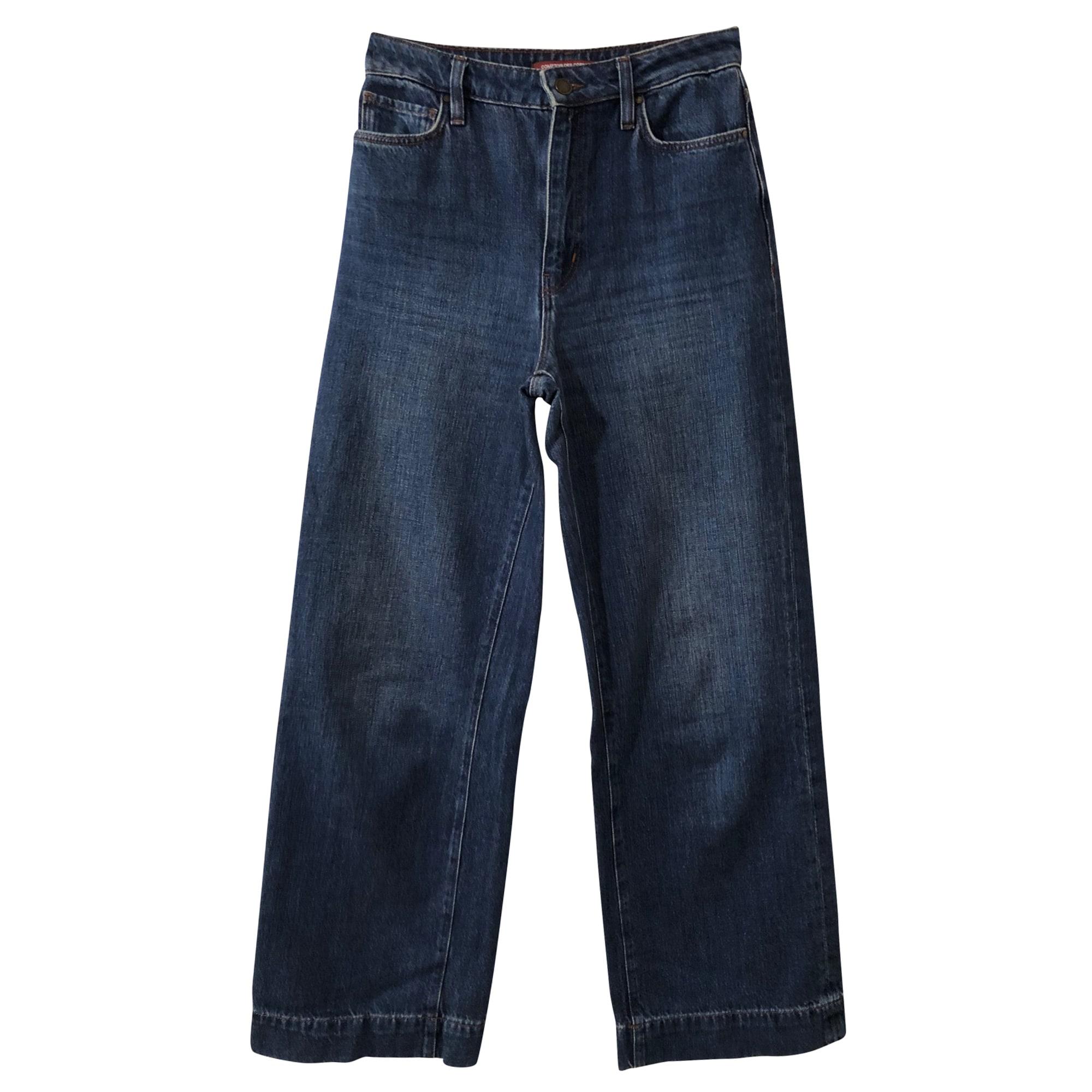 Jeans très evasé, patte d'éléphant COMPTOIR DES COTONNIERS Bleu, bleu marine, bleu turquoise