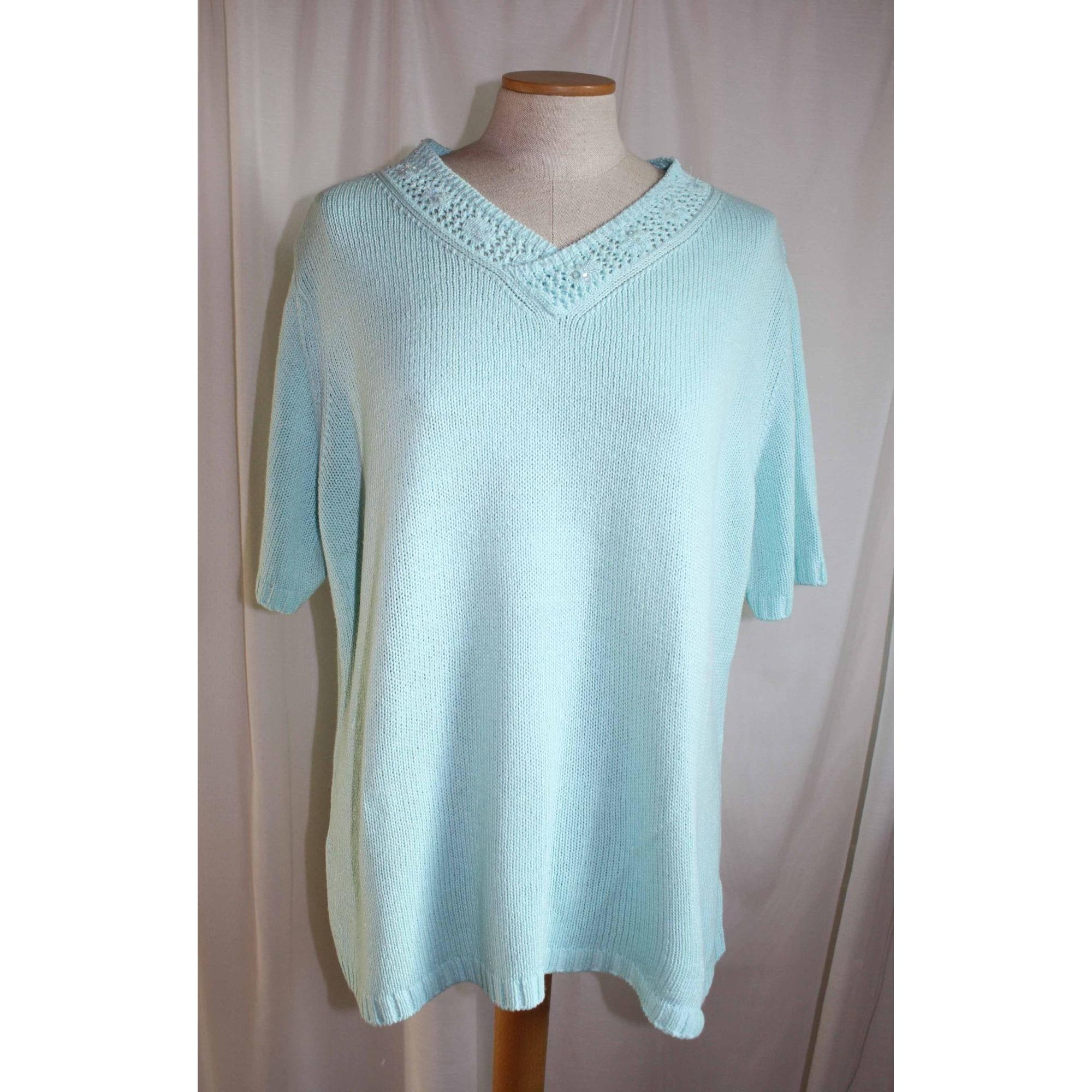 Top, tee-shirt C&A Bleu, bleu marine, bleu turquoise