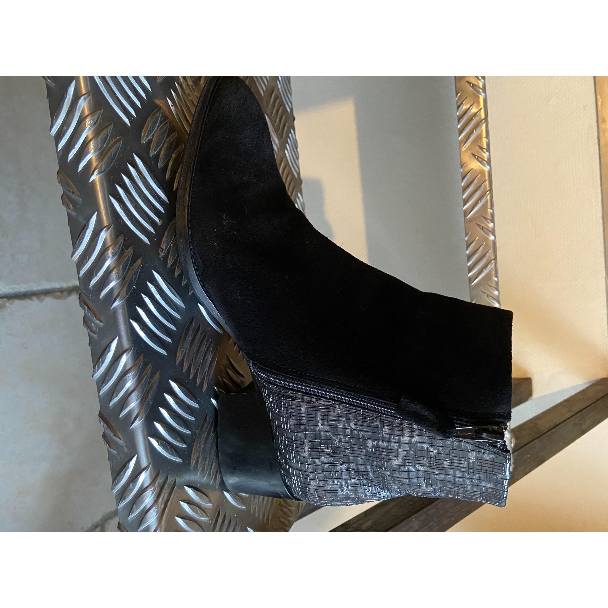 Bottines & low boots à talons ELISABETH STUART Noir