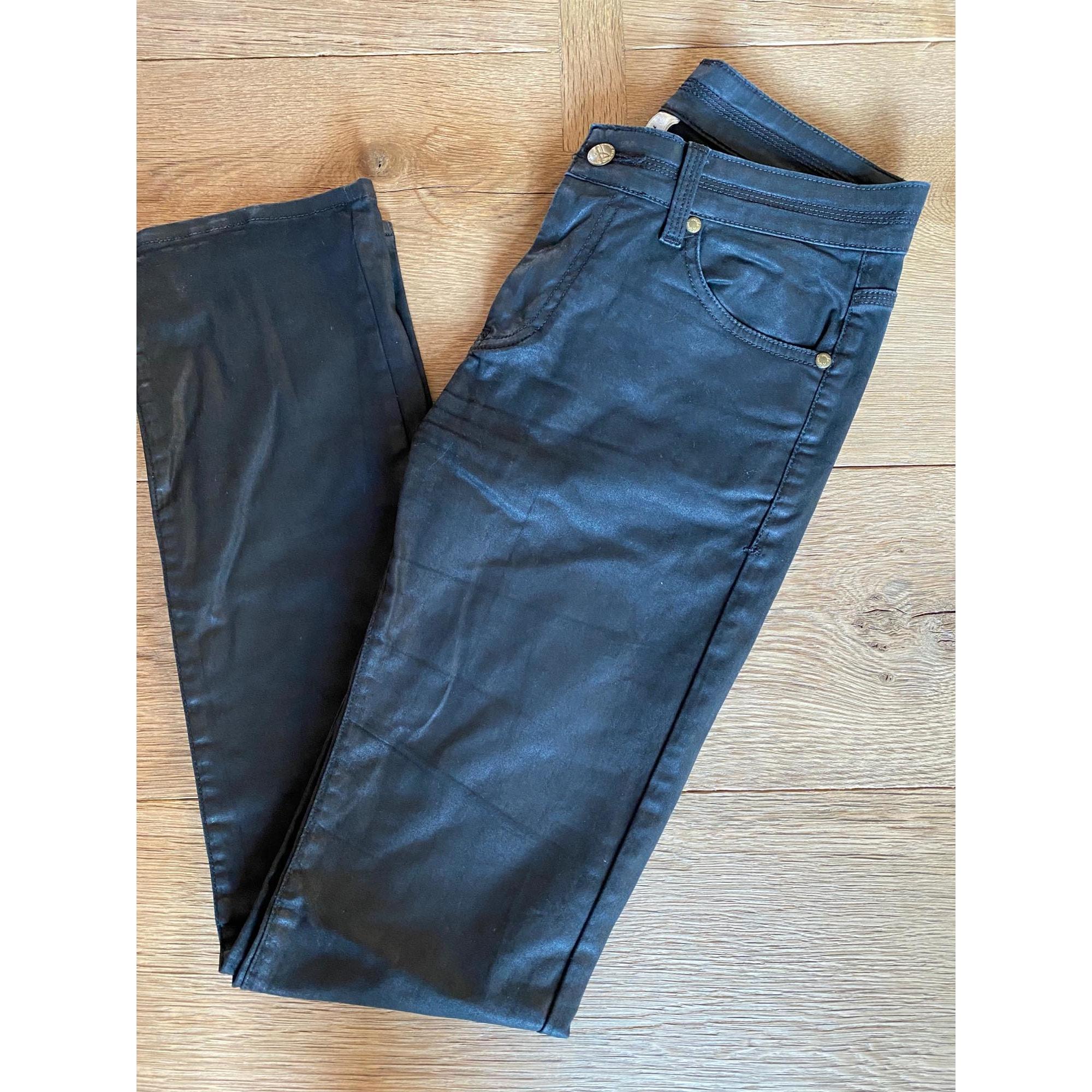Jeans droit AQUAVERDE Noir