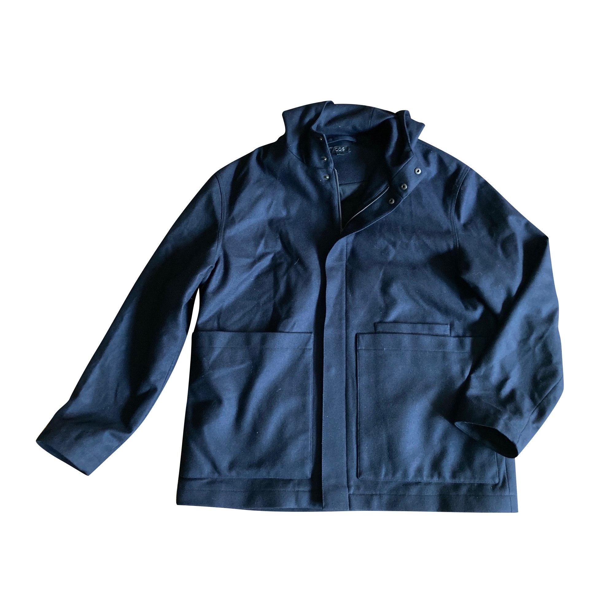 Caban COS Bleu, bleu marine, bleu turquoise