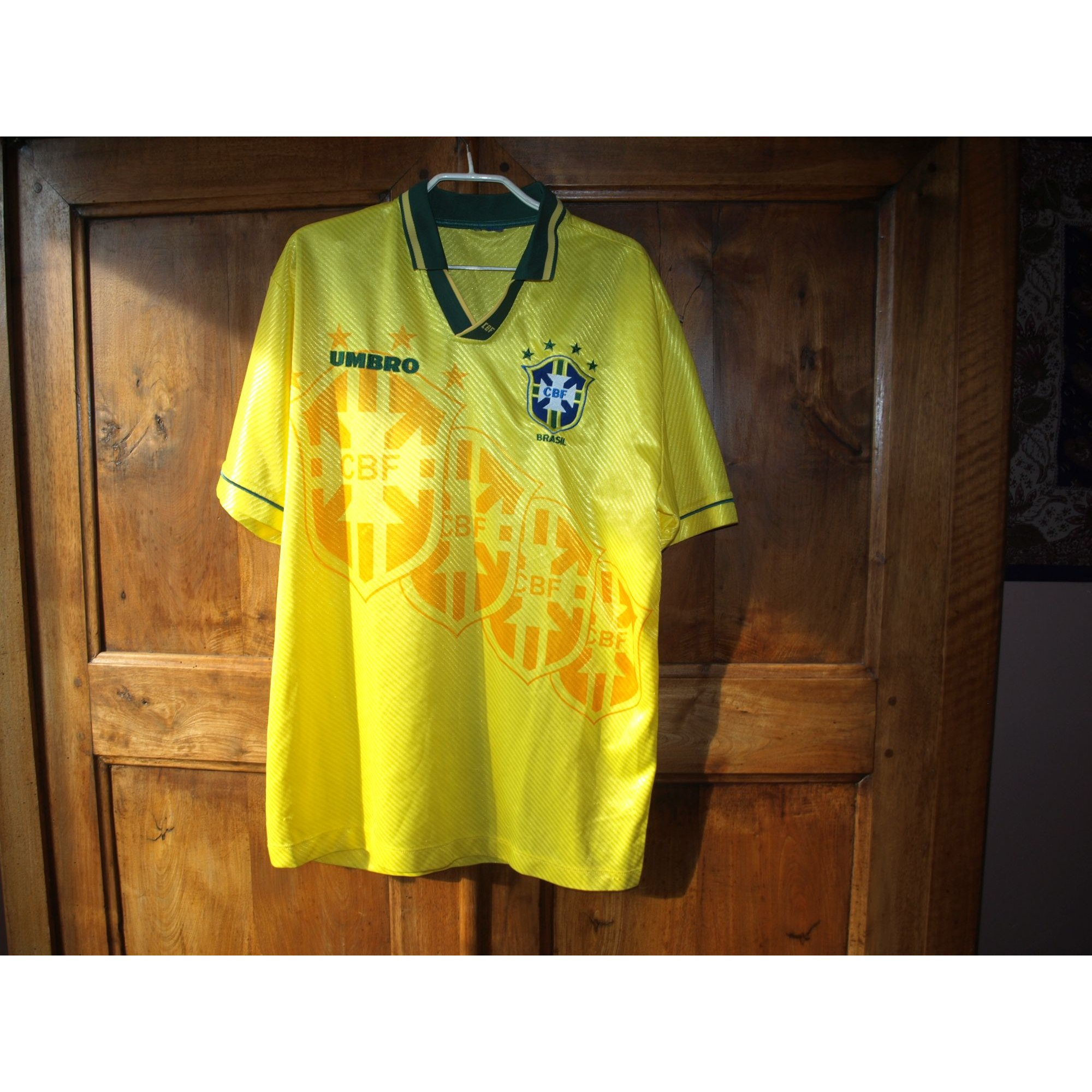 T-shirt UMBRO Yellow
