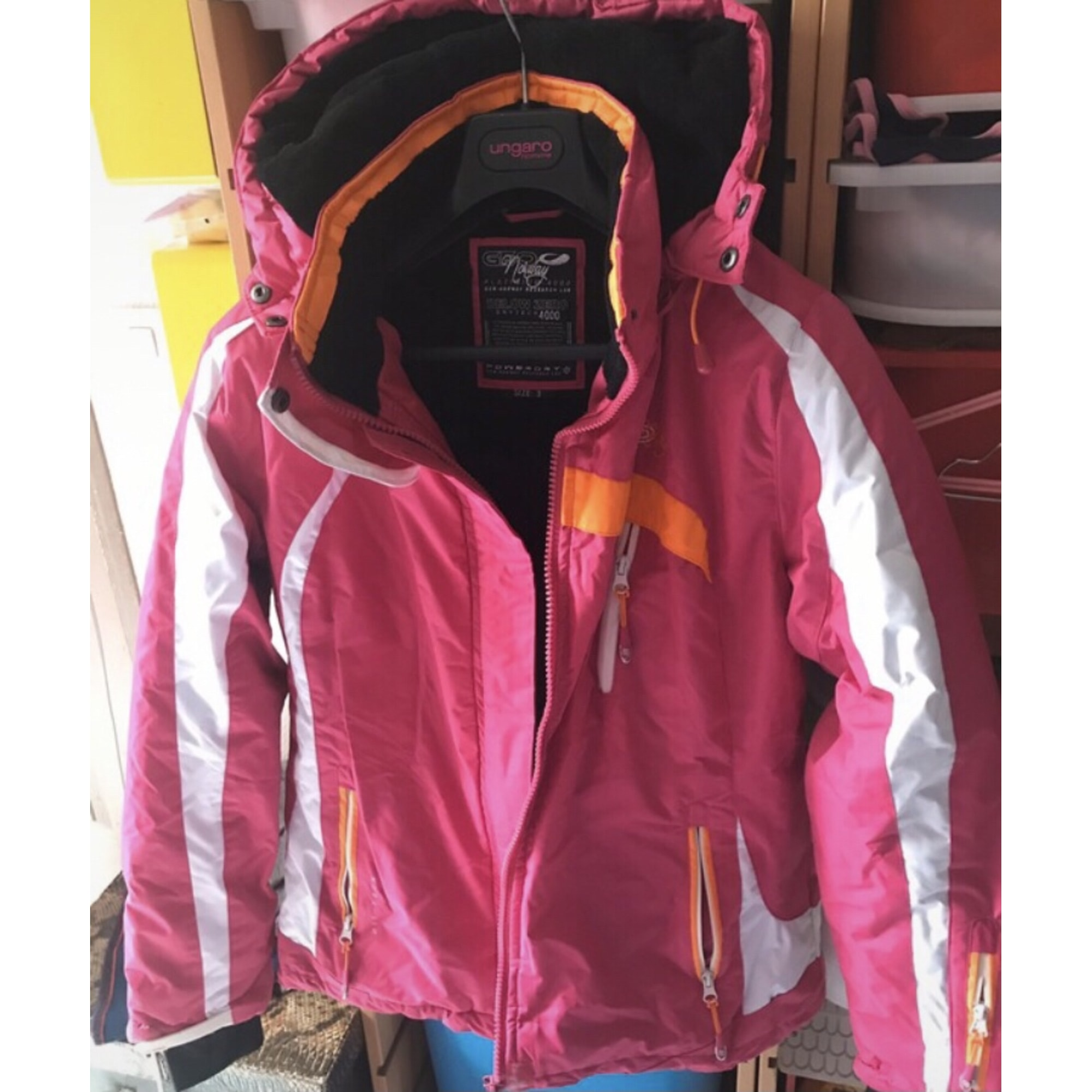 Parka GEOGRAPHICAL NORWAY Rose, fuschia, vieux rose