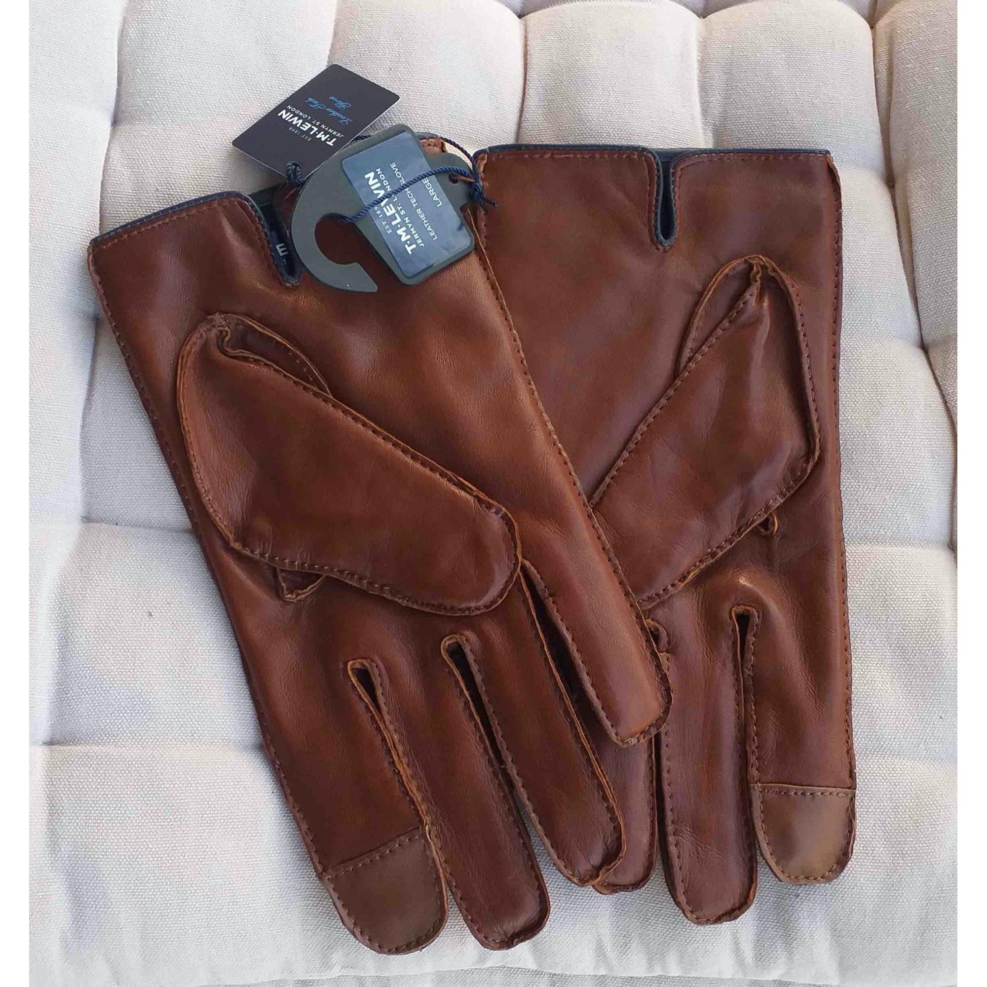Handschuhe T.LEWIN Braun