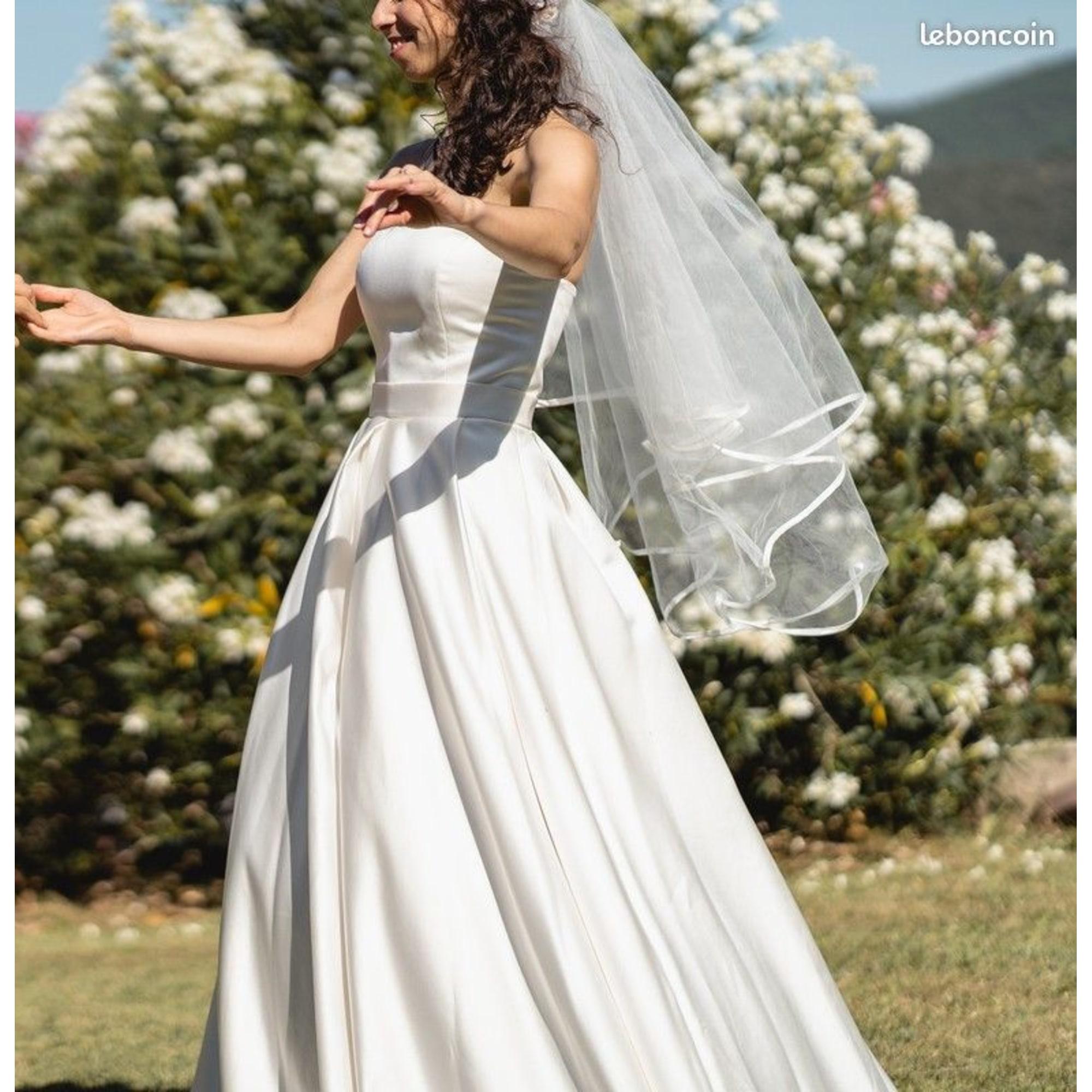 Robe de mariée MARQUE INCONNUE Blanc, blanc cassé, écru