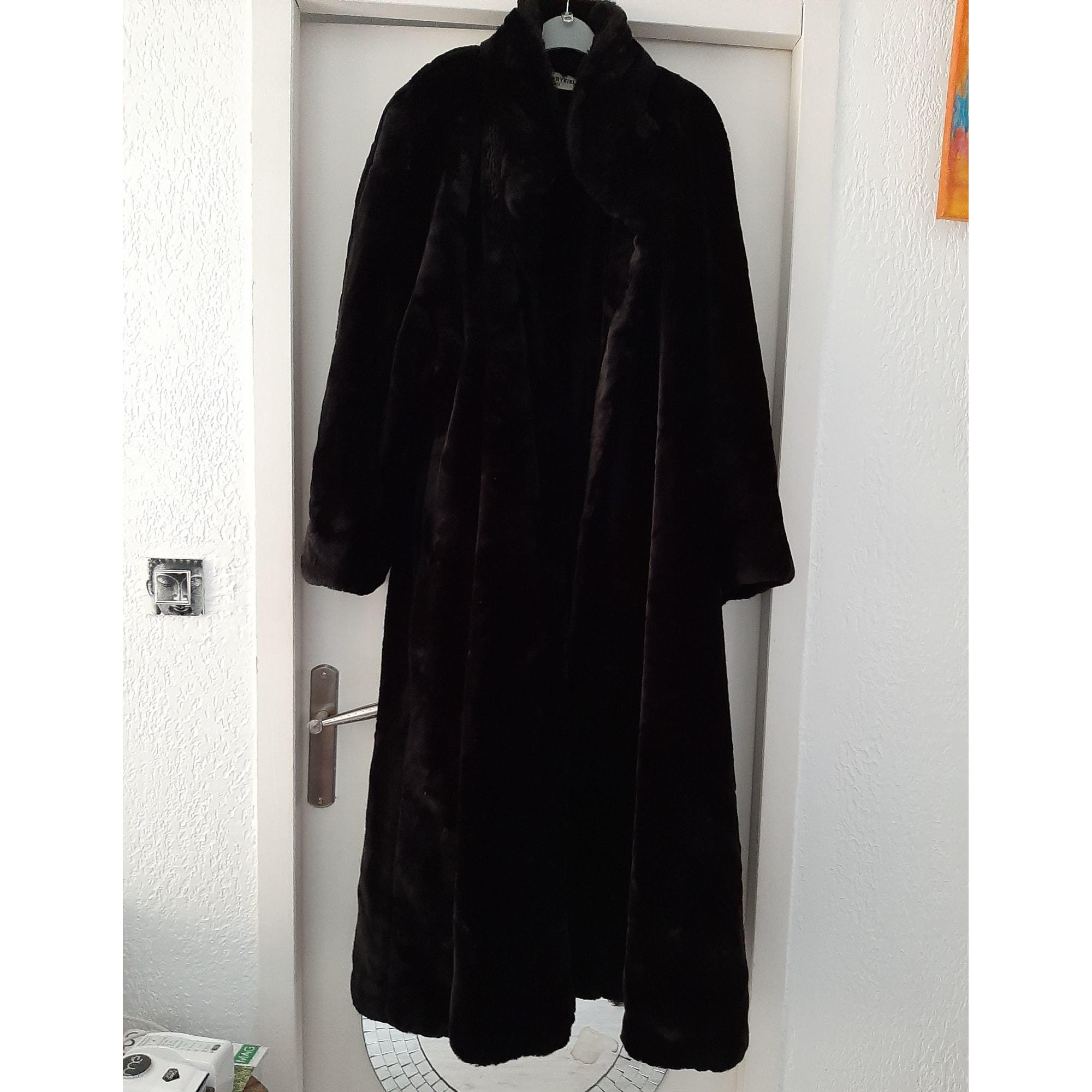 Manteau en fourrure SONIA RYKIEL Marron