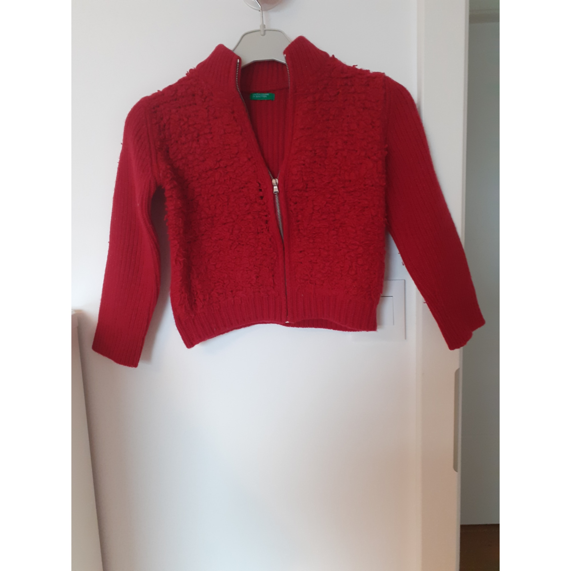 Gilet, cardigan UNITED COLORS OF BENETTON Rouge, bordeaux