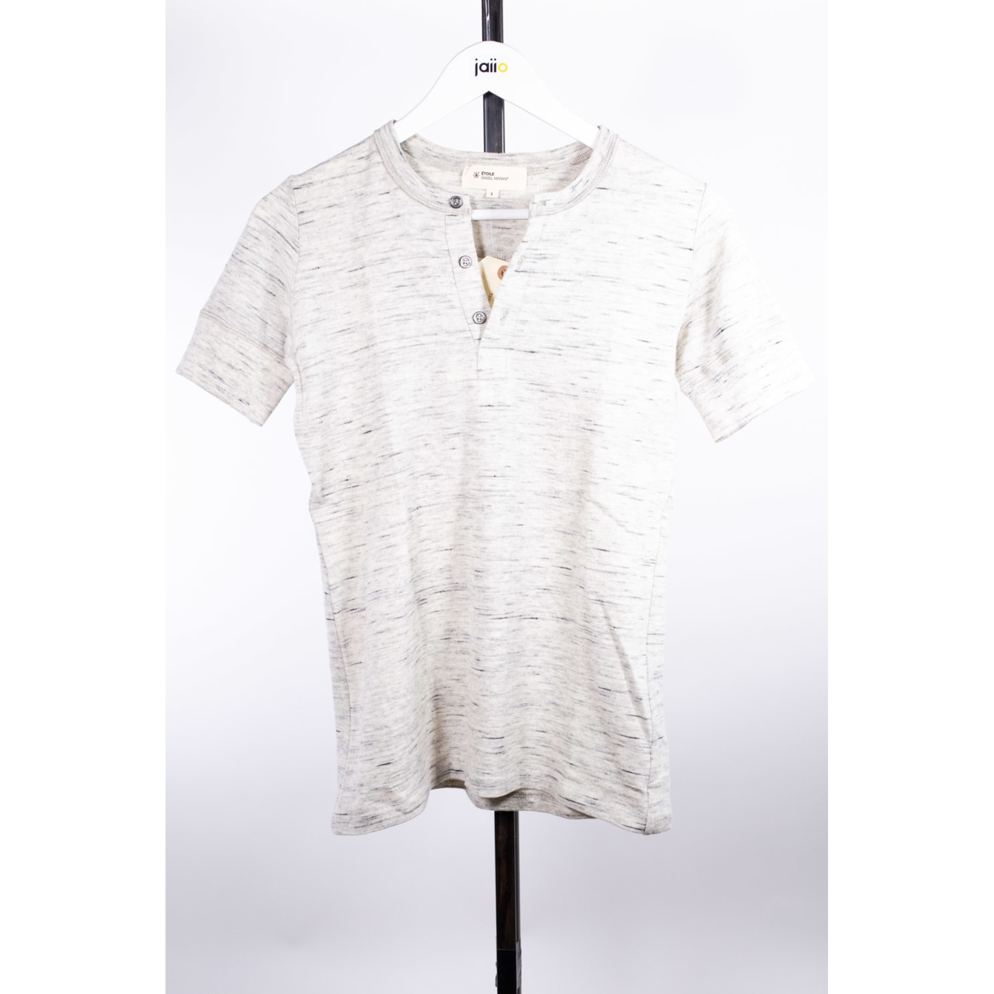 Top, tee-shirt ISABEL MARANT Gris, anthracite