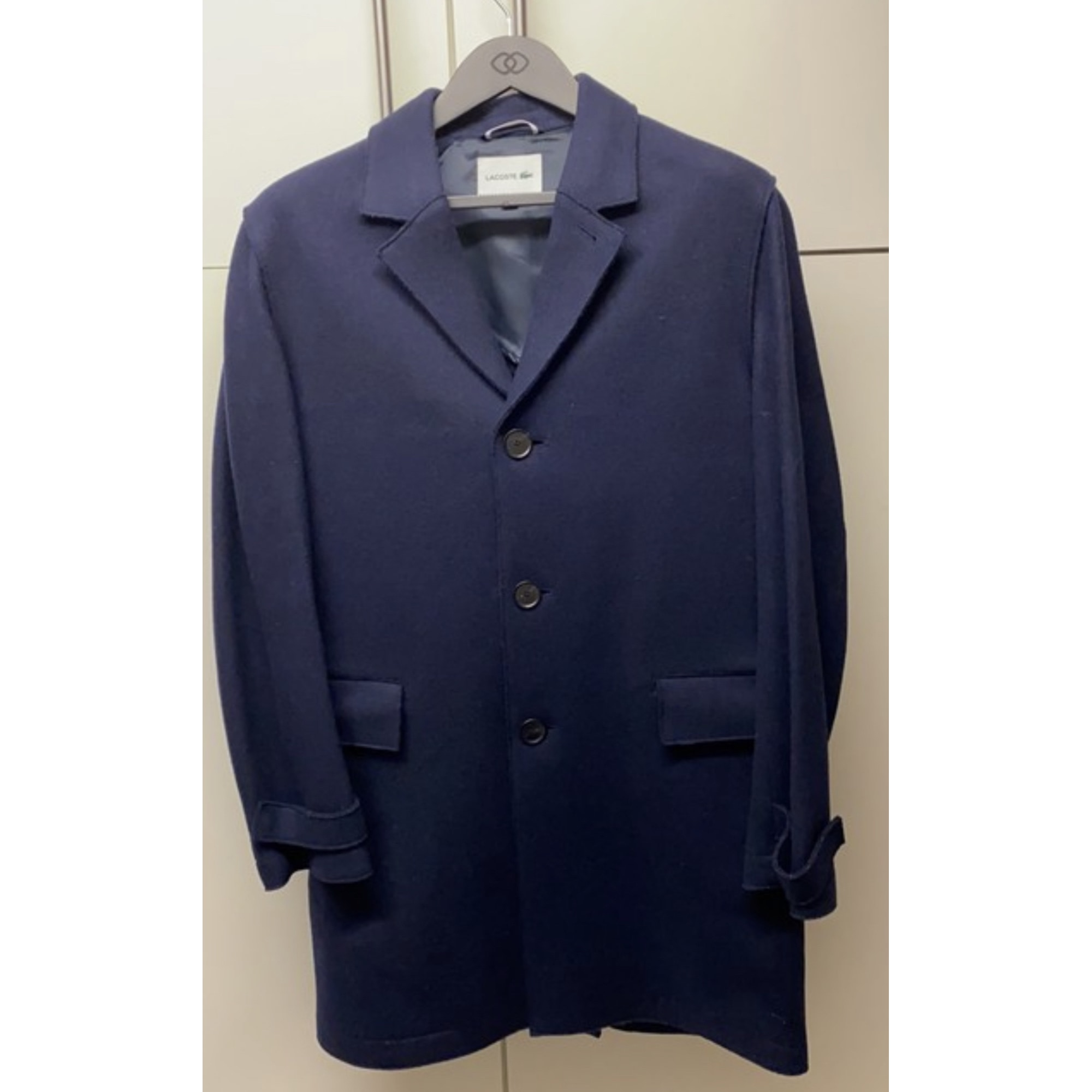 Manteau LACOSTE Bleu, bleu marine, bleu turquoise