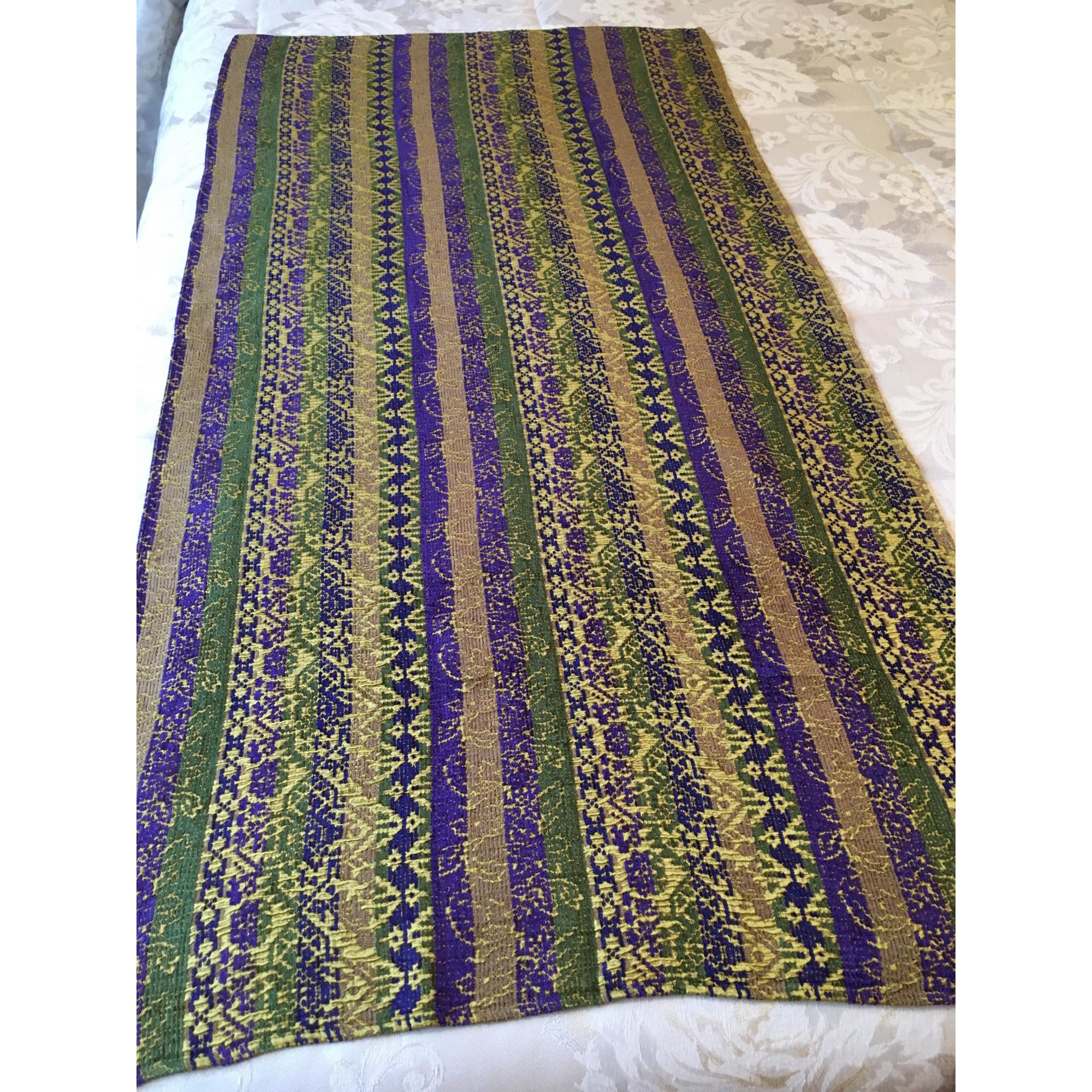 Etole KENZO Doré vert violet