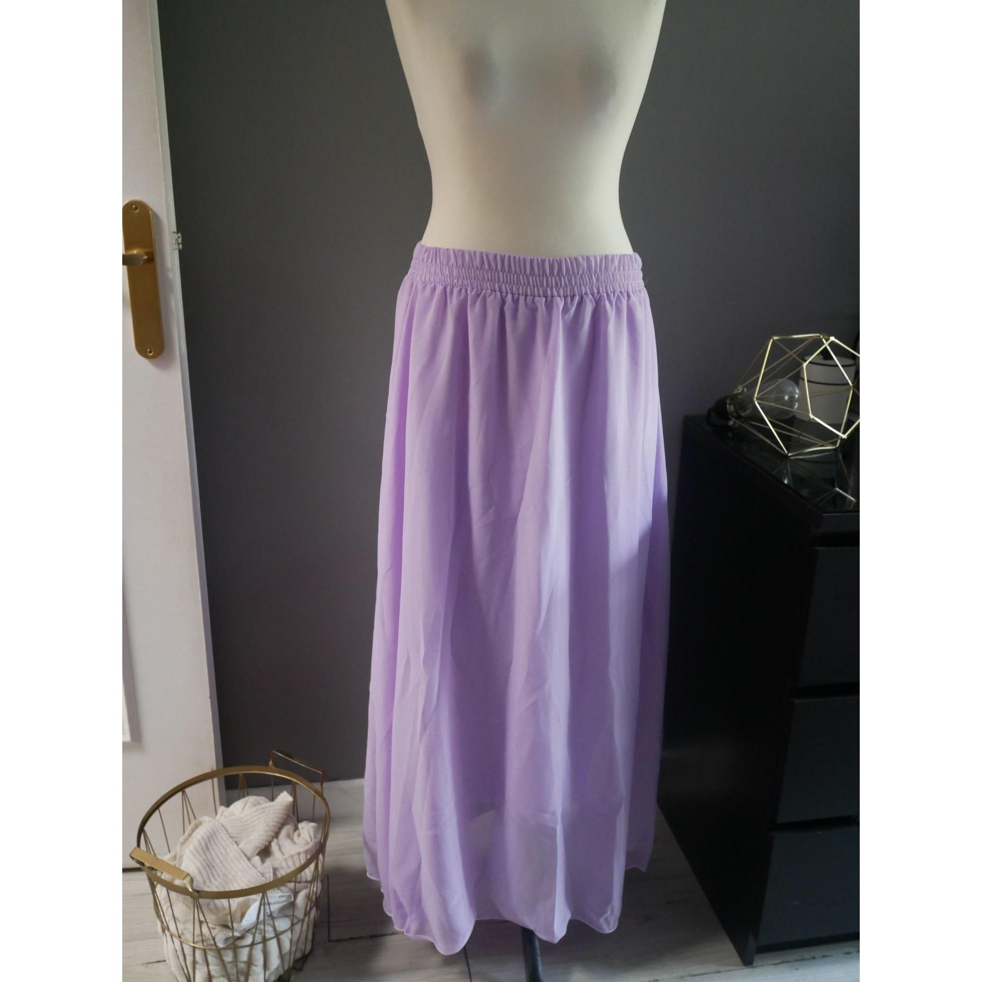 Jupe longue MARQUE INCONNUE Violet, mauve, lavande