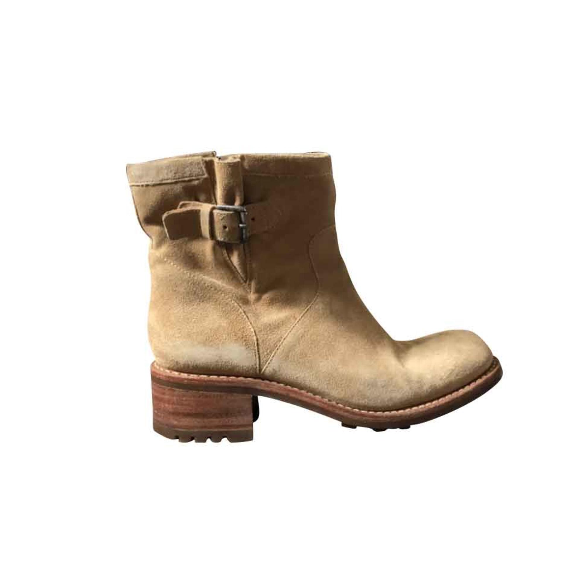 Bottines & low boots à talons FREE LANCE Beige, camel