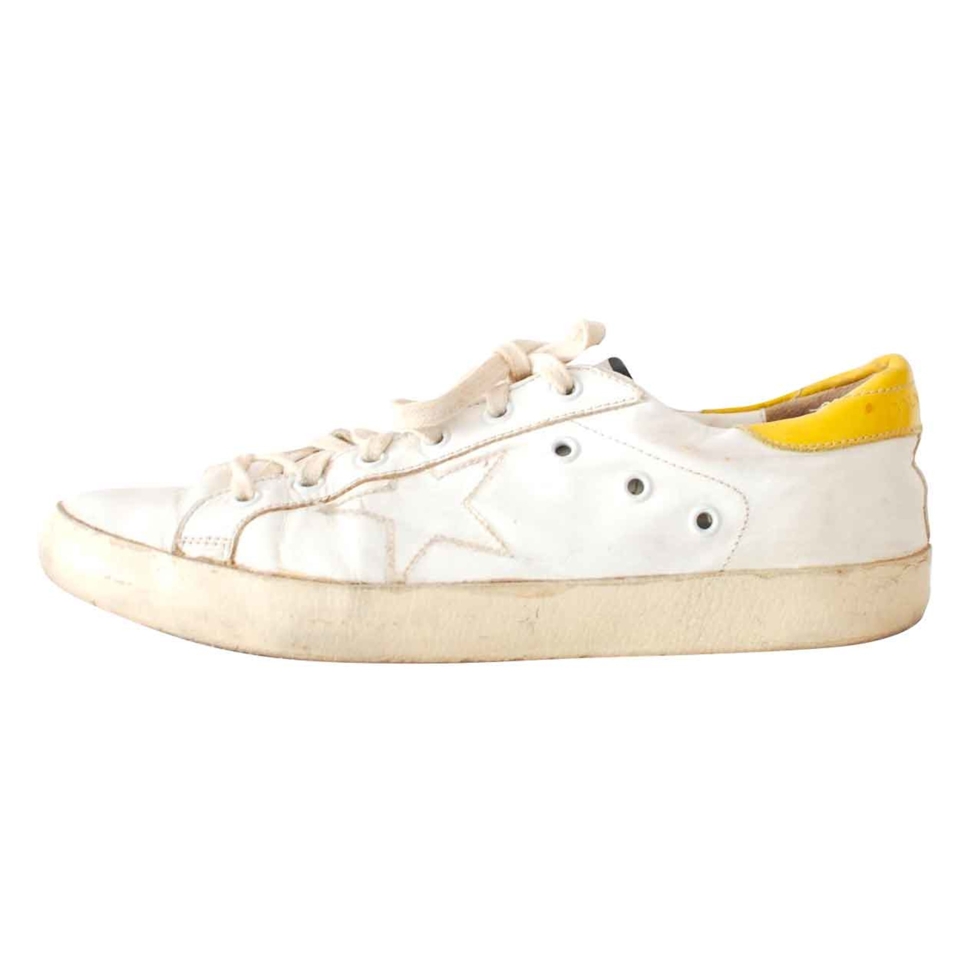 Chaussures de sport GOLDEN GOOSE Blanc, blanc cassé, écru