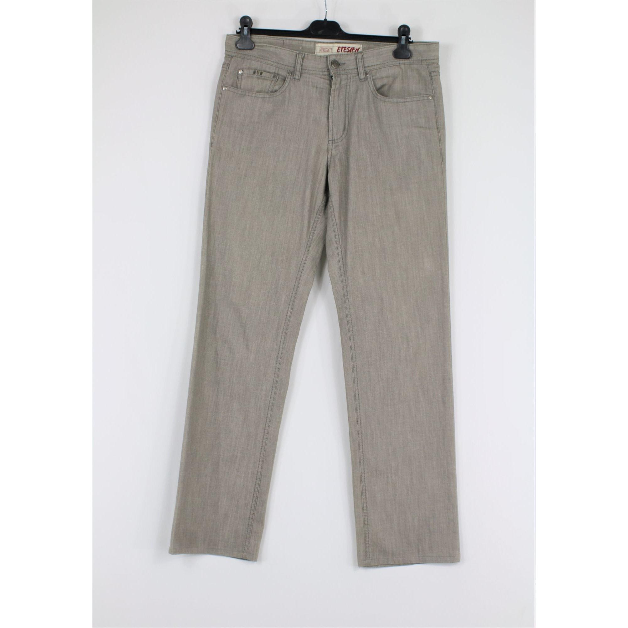 Jeans droit CERRUTI 1881 Gris, anthracite