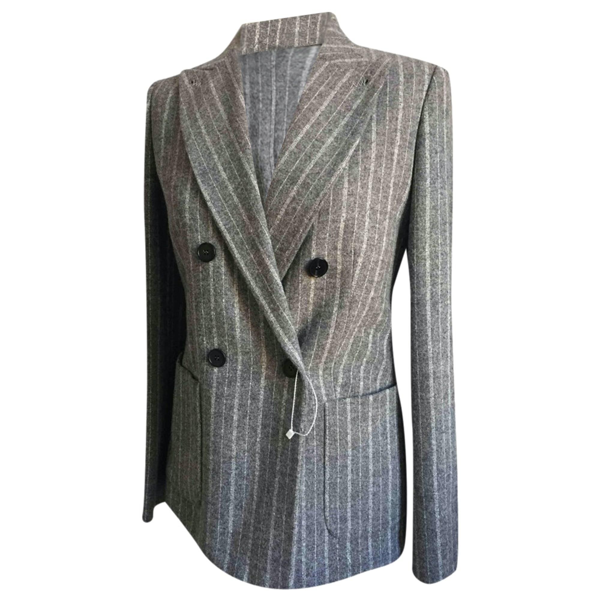 Blazer, veste tailleur MAX MARA Gris, anthracite