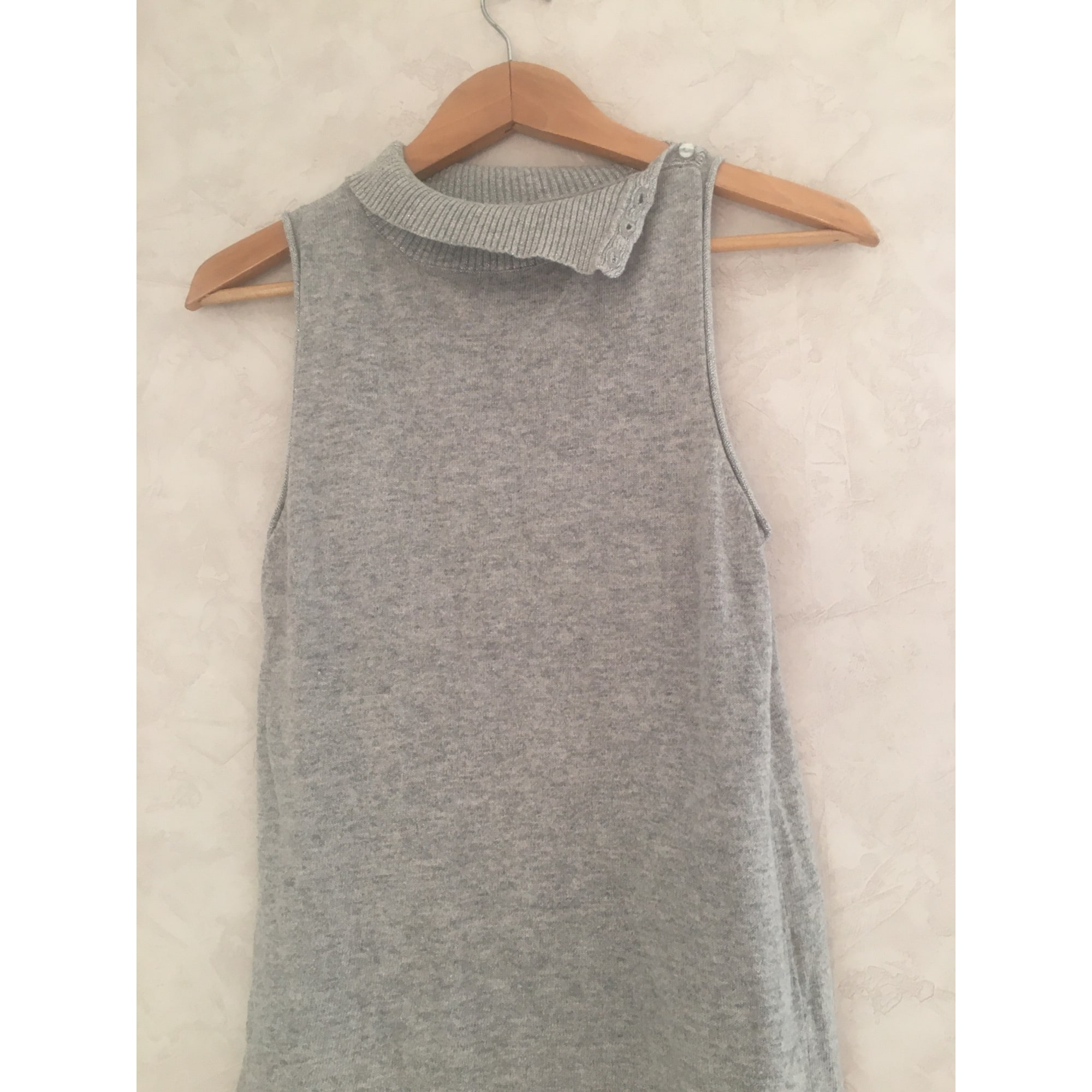 Pull VINTAGE Gris, anthracite